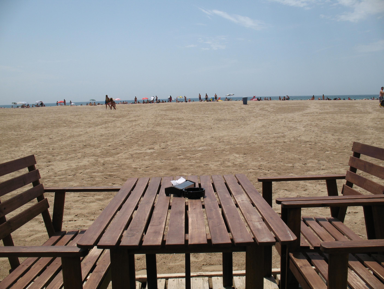 Foto playa Les Botigues. Castelldefels Beach 2