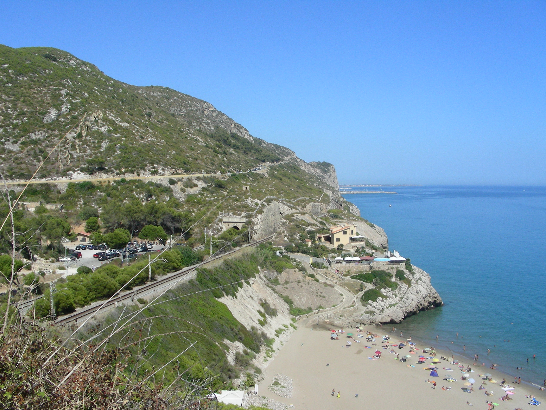 Foto playa Els Balmins. Cala Morisca
