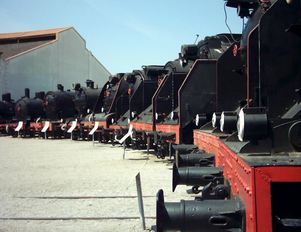 Foto playa El Far de Sant Cristófol. Museu del Ferrocarril de Vilanova i la Geltrú