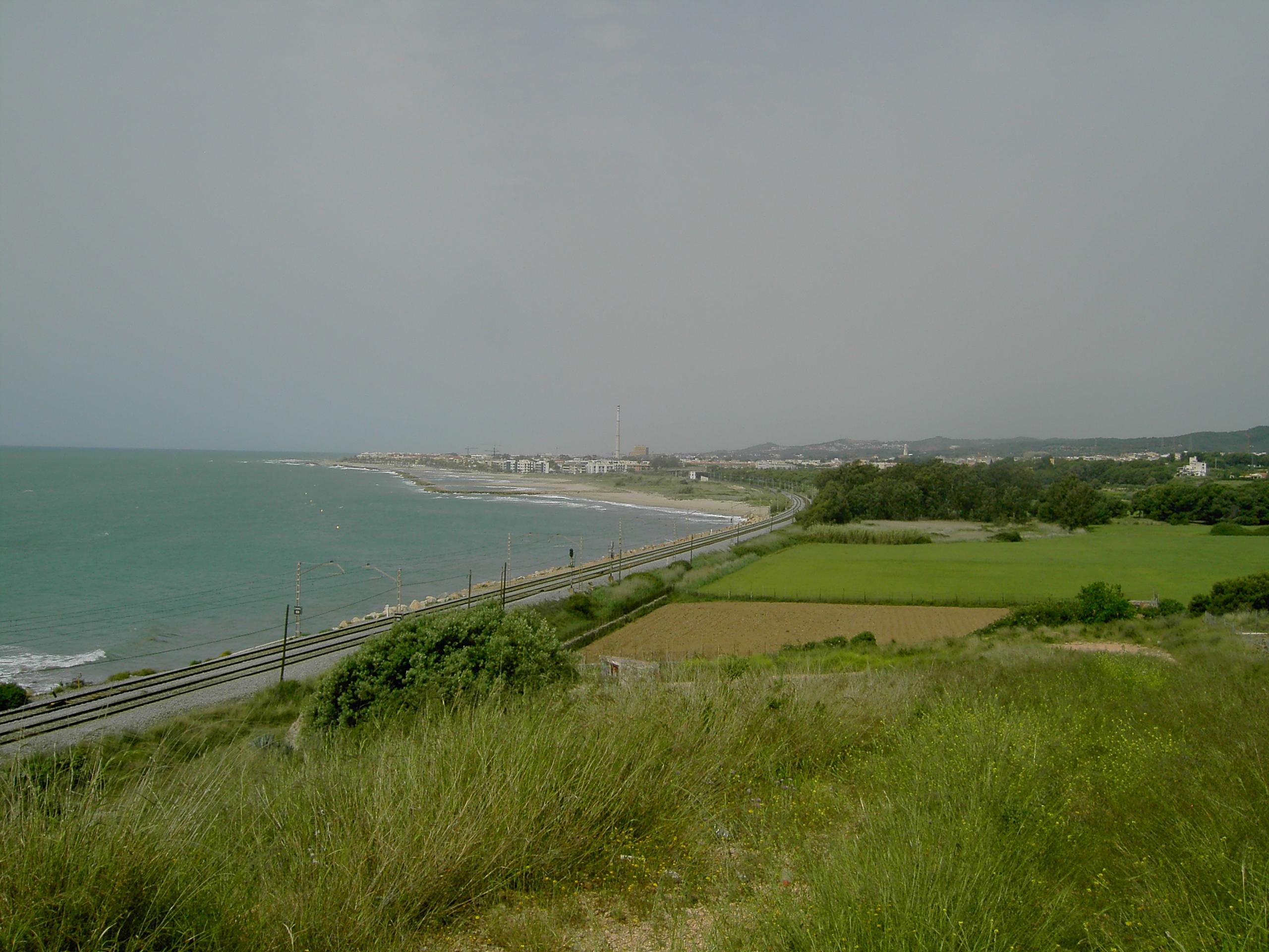 Foto playa Sant Gervasi. Termica Cubellas