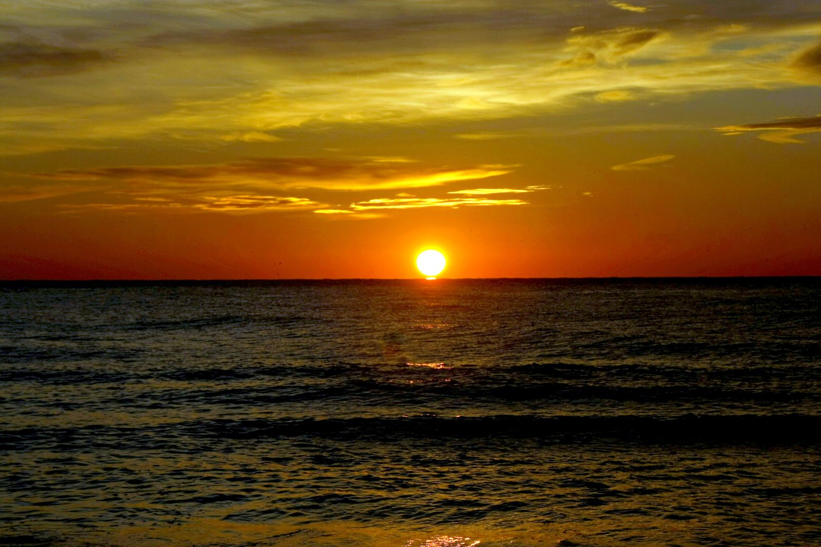 Foto playa Platja Llarga d'Ibersol. Amanecer