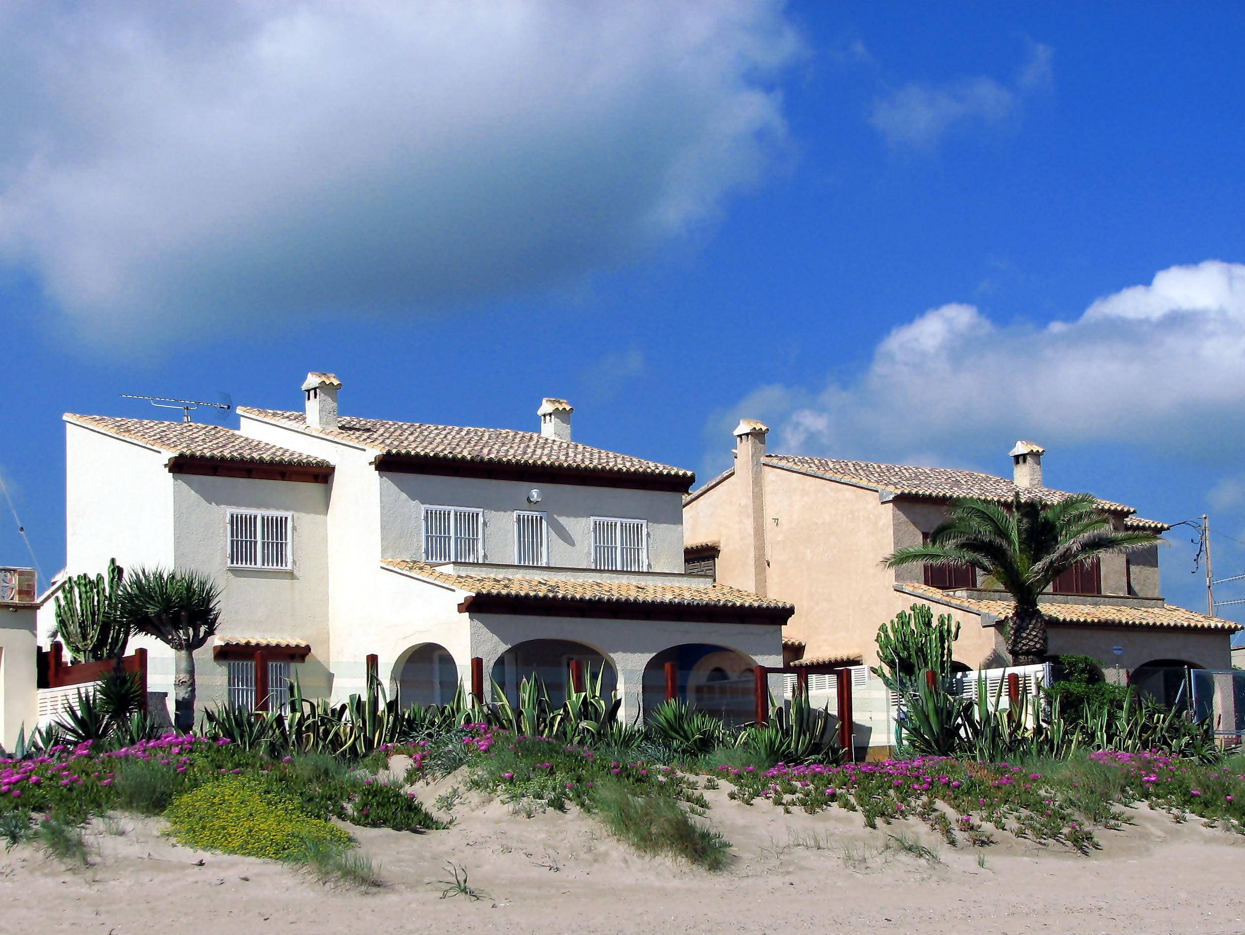 Foto playa Les Devesses / Bassetes. Villa