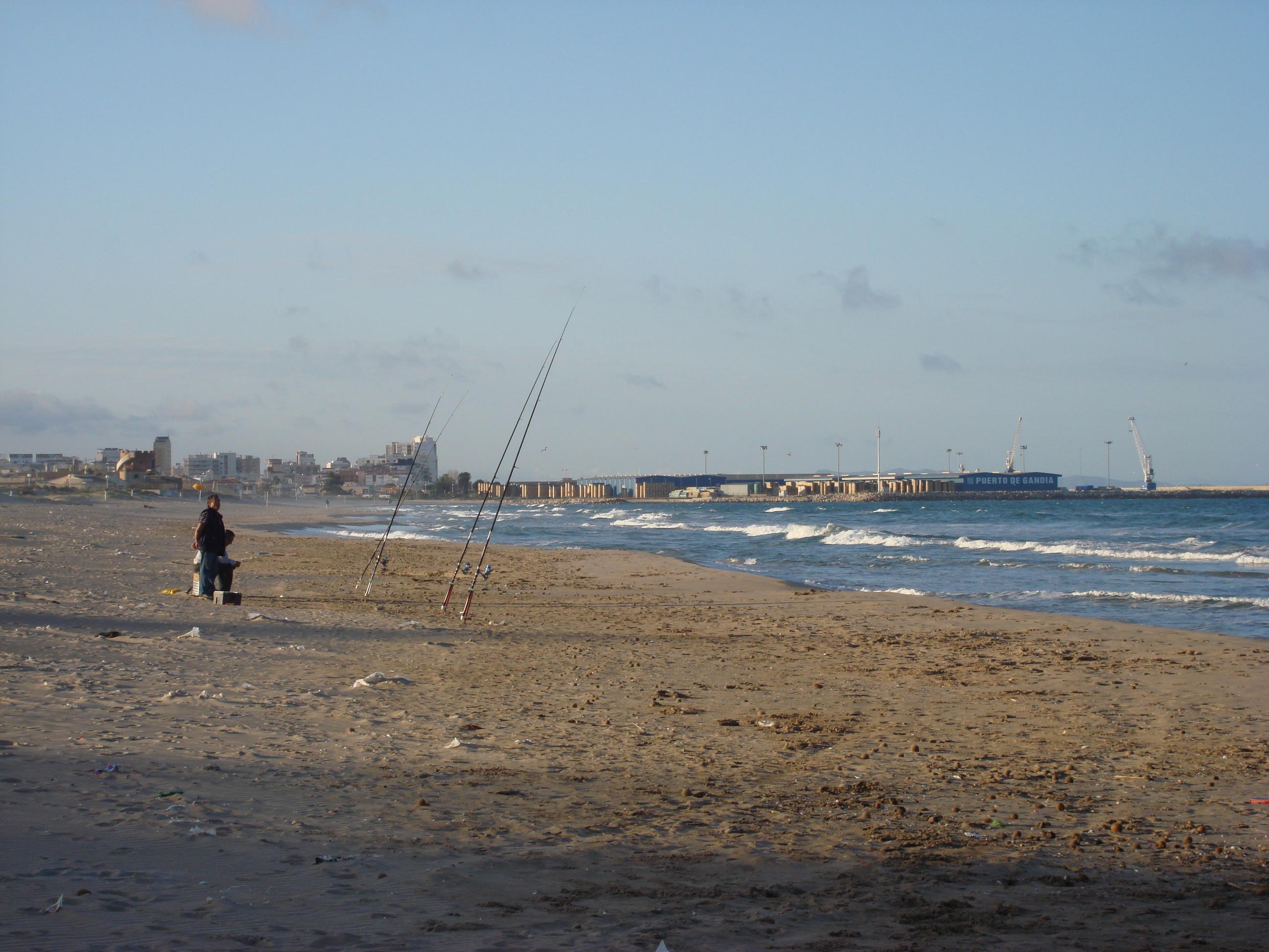 Foto playa Los Pedregales. Platja dels Marenys de Rafalcaid