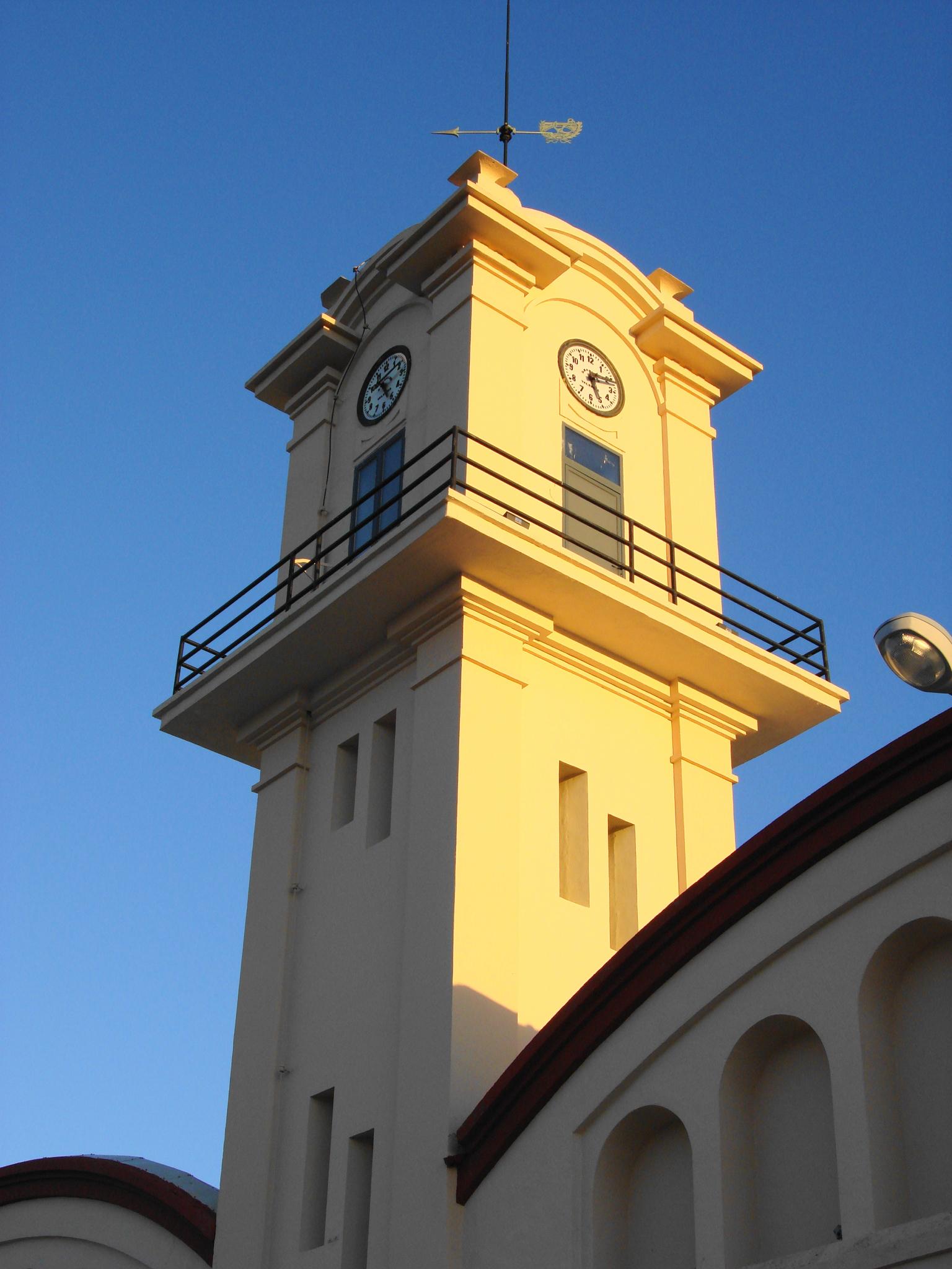 Foto playa Rafalcaid. Torre del Reloj