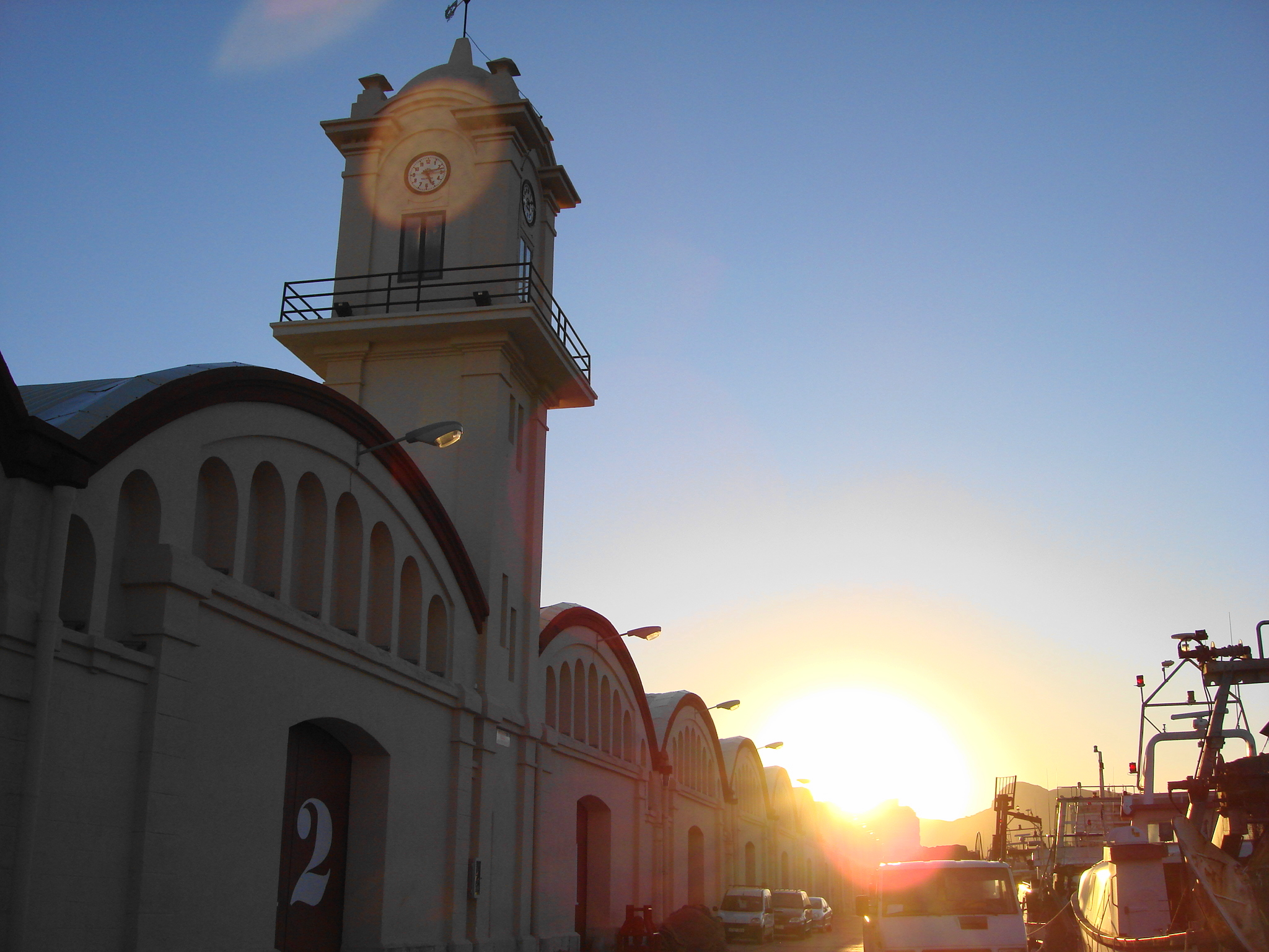 Foto playa Rafalcaid. Atarazanas  Sunset