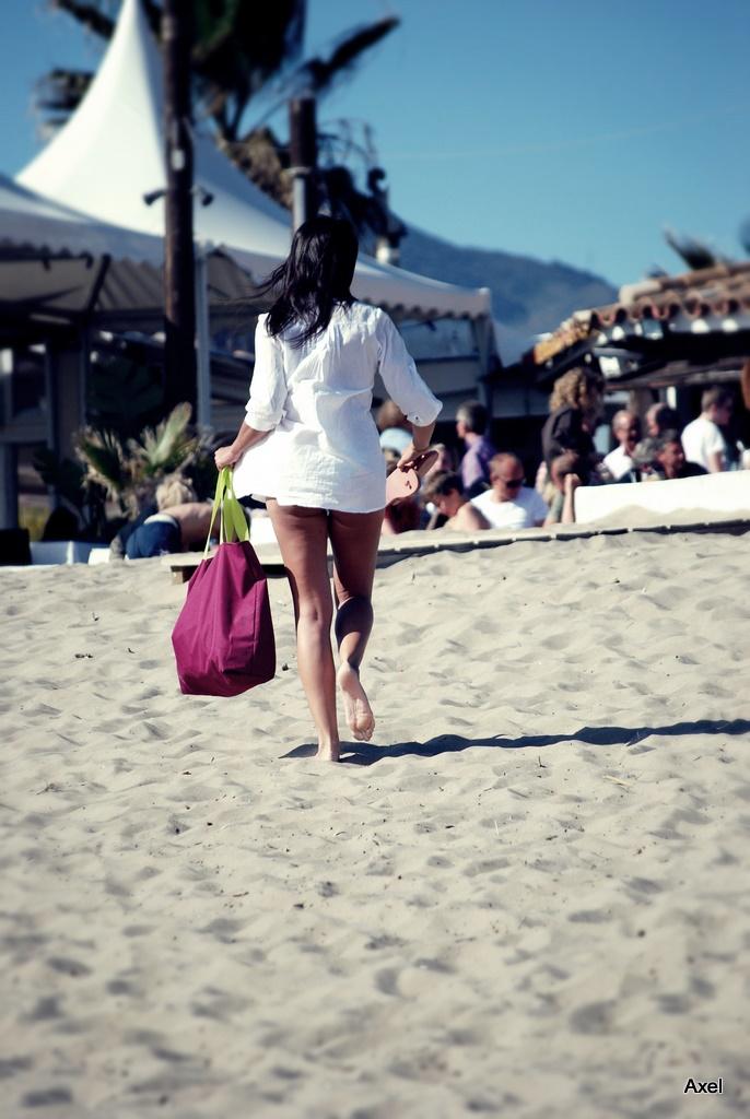 Foto playa Fontanilla. Lebegés