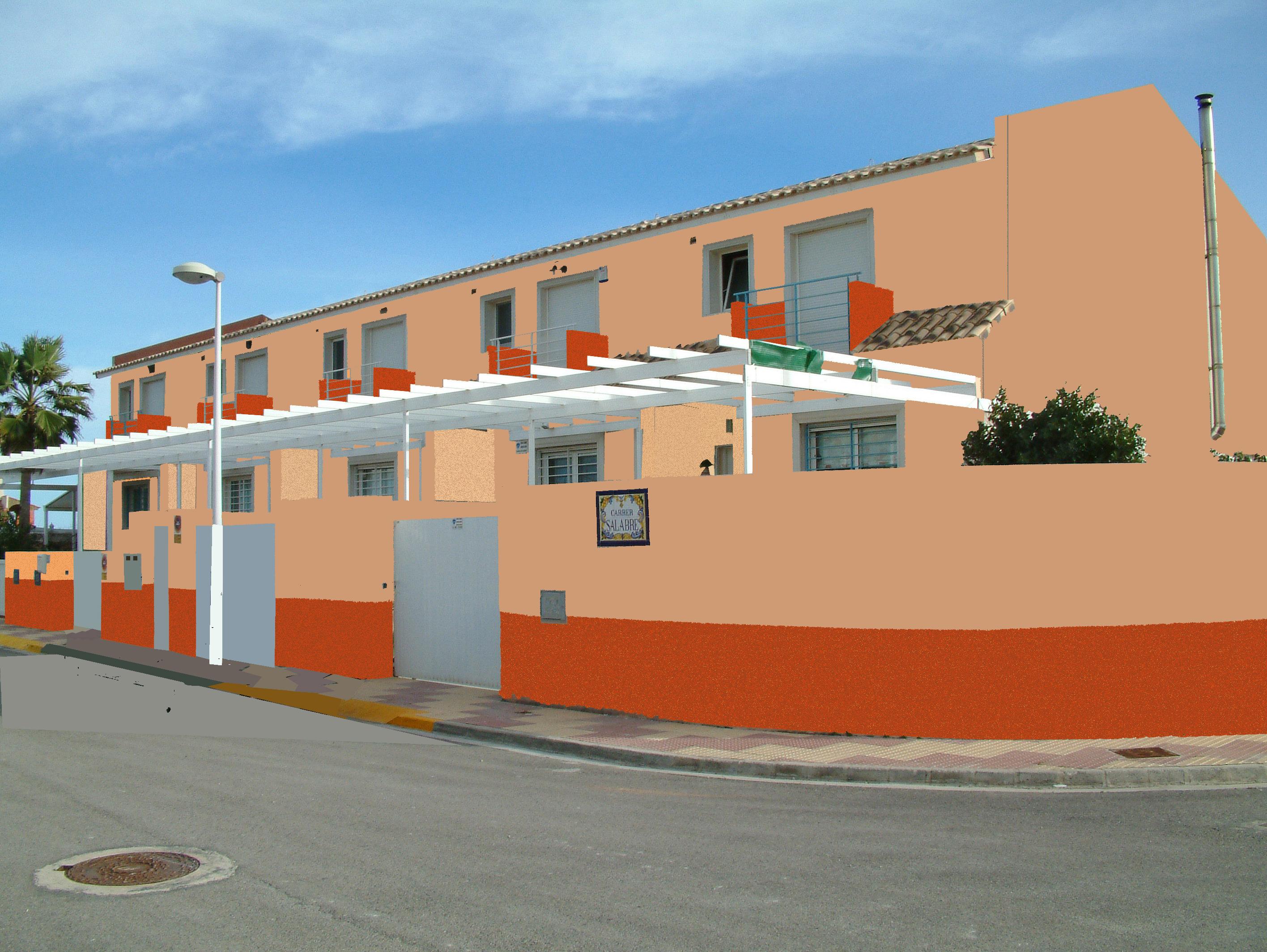 Foto playa El Marenyet. Urb. Villas del Estany
