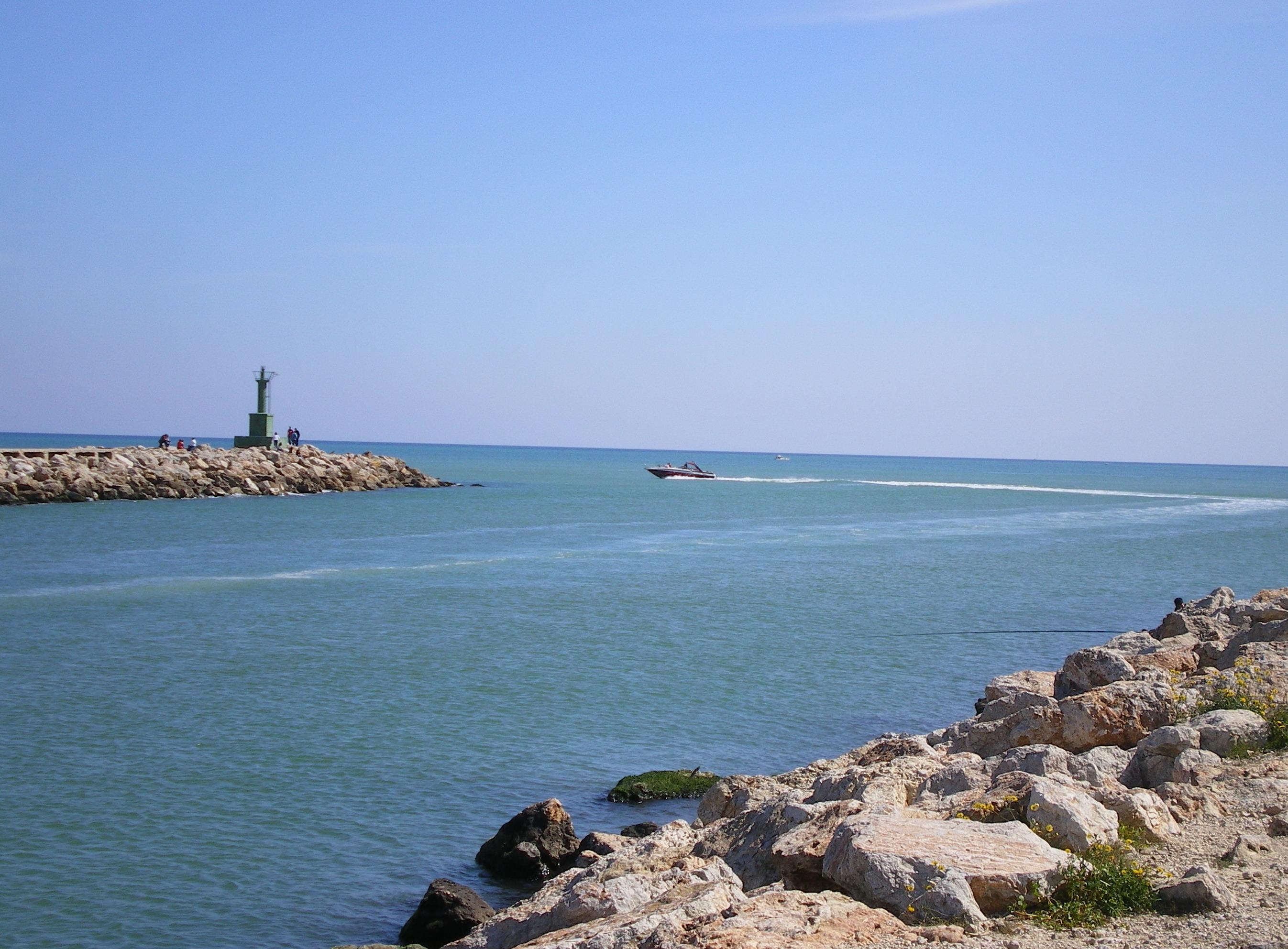 Foto playa Sant Antoni / San Antonio. Desembocadura del Xúquer