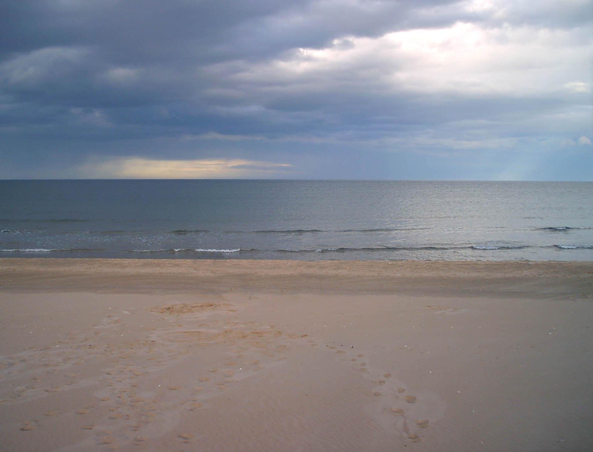 Foto playa Mareny de Sant Llorenç. Temporal al Mareny de Sant Llorens