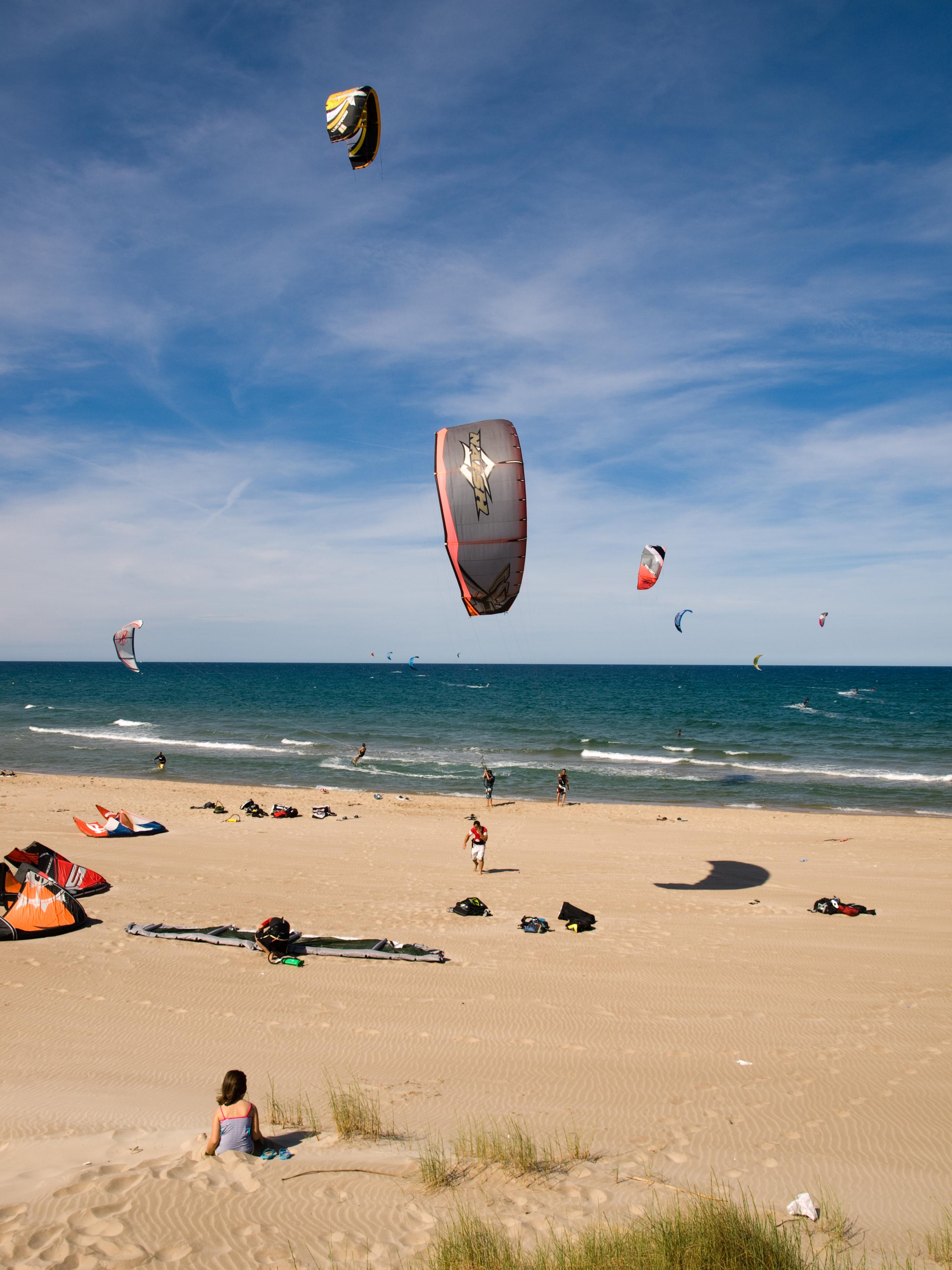 Foto playa Mareny de Sant Llorenç. Kite Surf-Mareny de Sant Lorenç