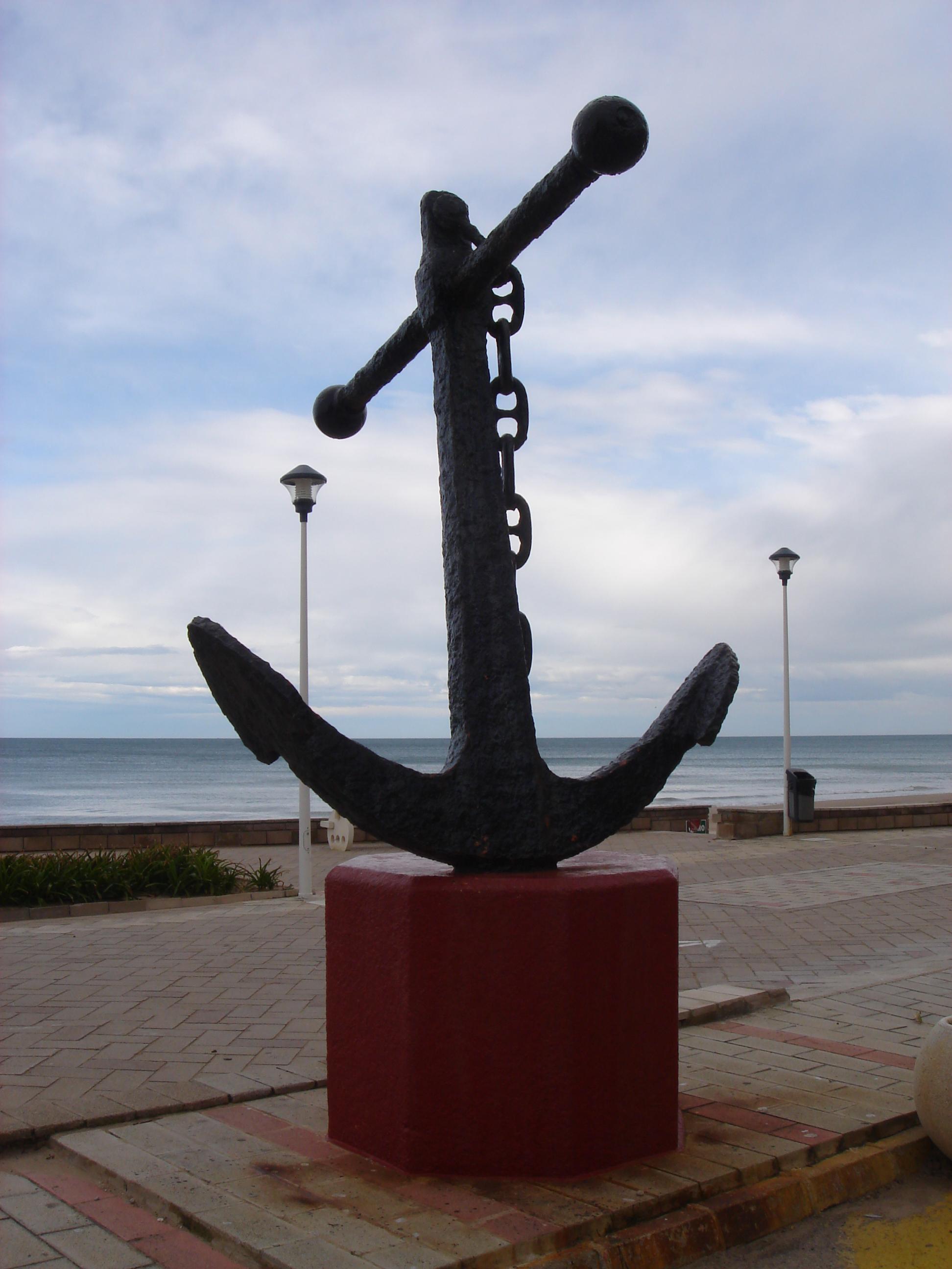 Foto playa Mareny de Sant Llorenç. [ n_lorito ] Ancla. Mareny Blau. Sueca