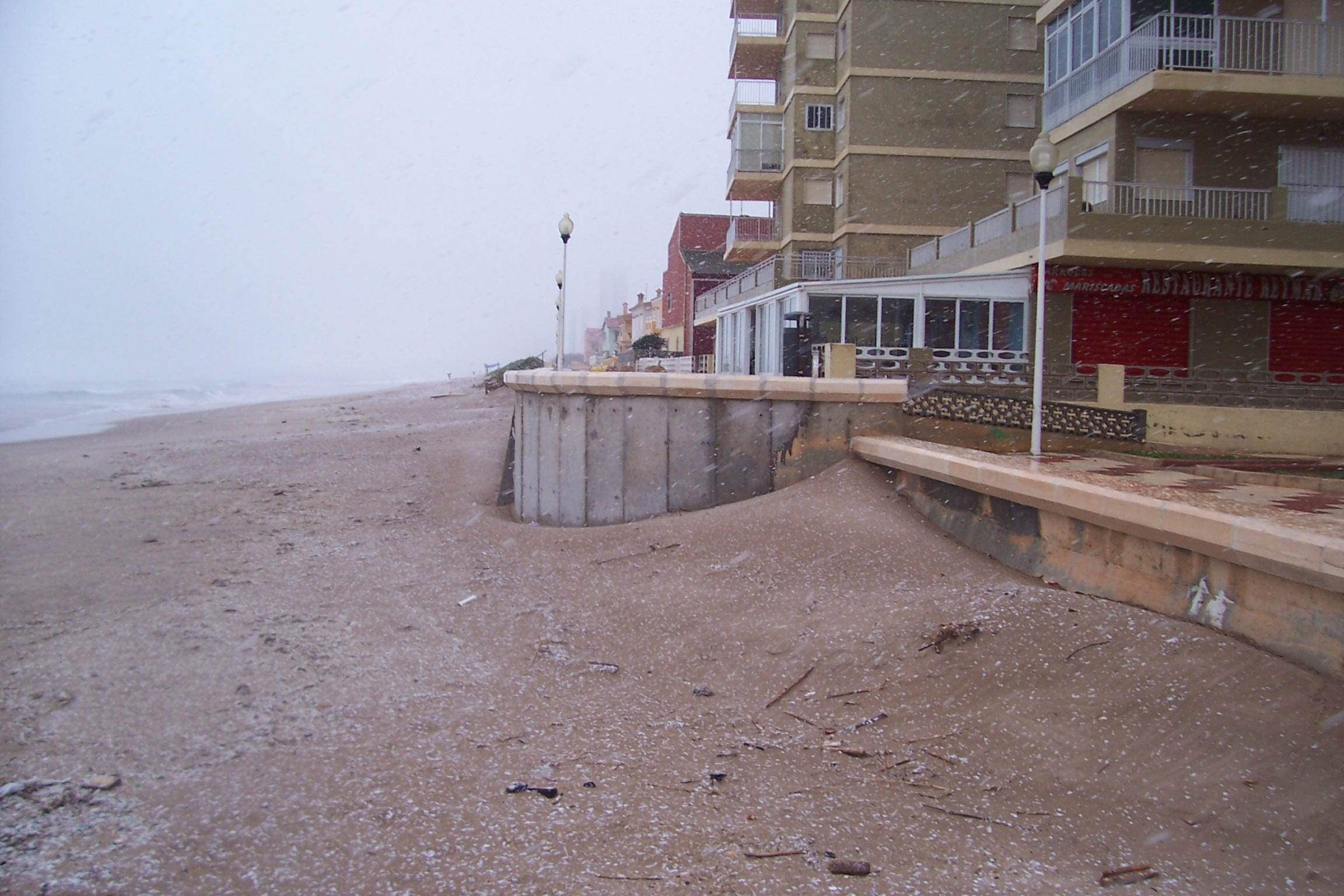 Foto playa Pouet. Nevant a voramar