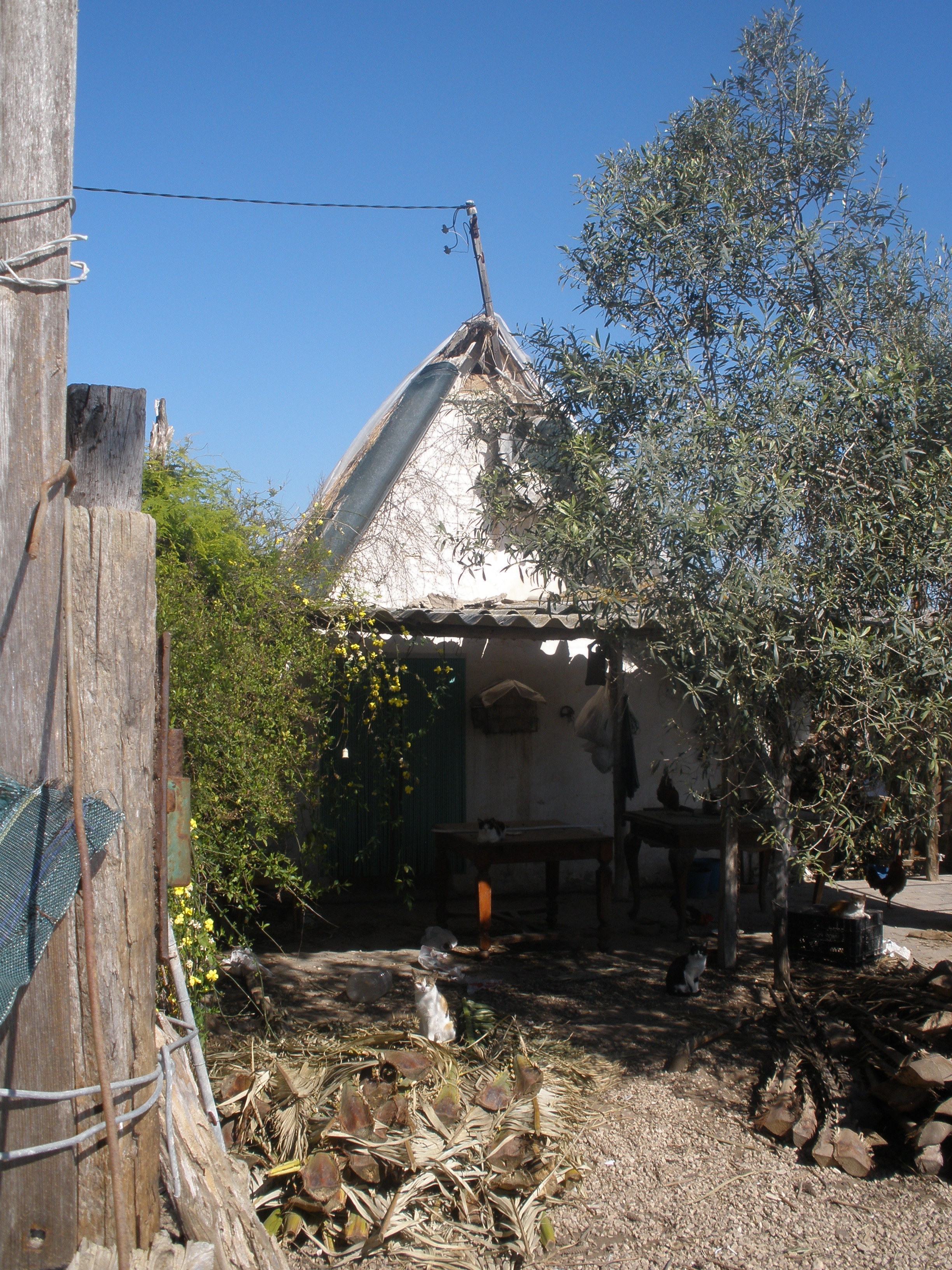 Foto playa Pouet. Antiga barraca