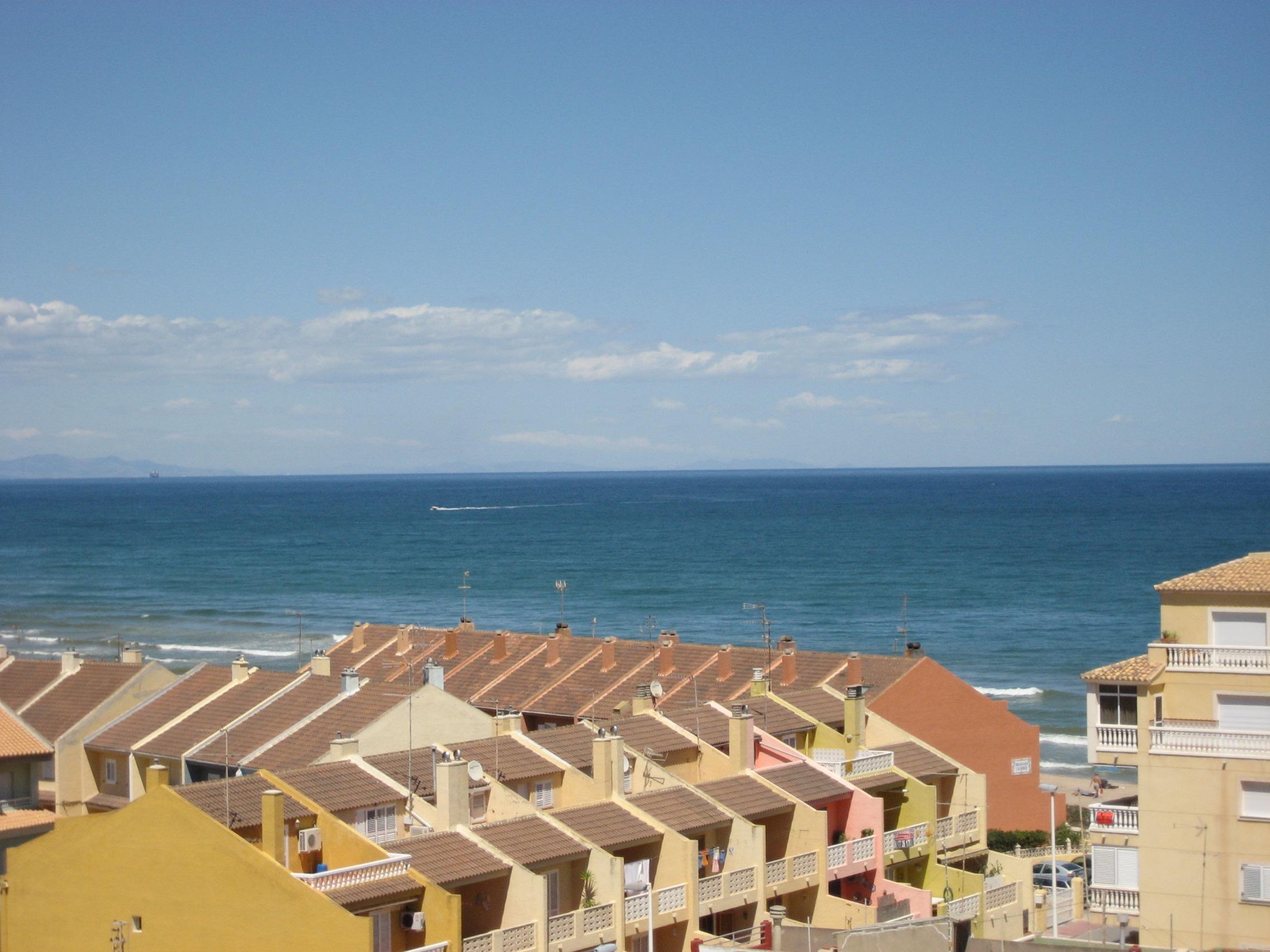 Foto playa Les Palmeretes. La mar salada