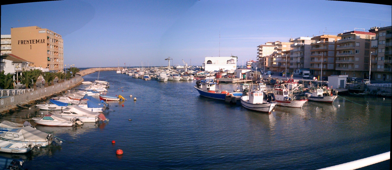 Foto playa El Perelló. Gola del Perelló