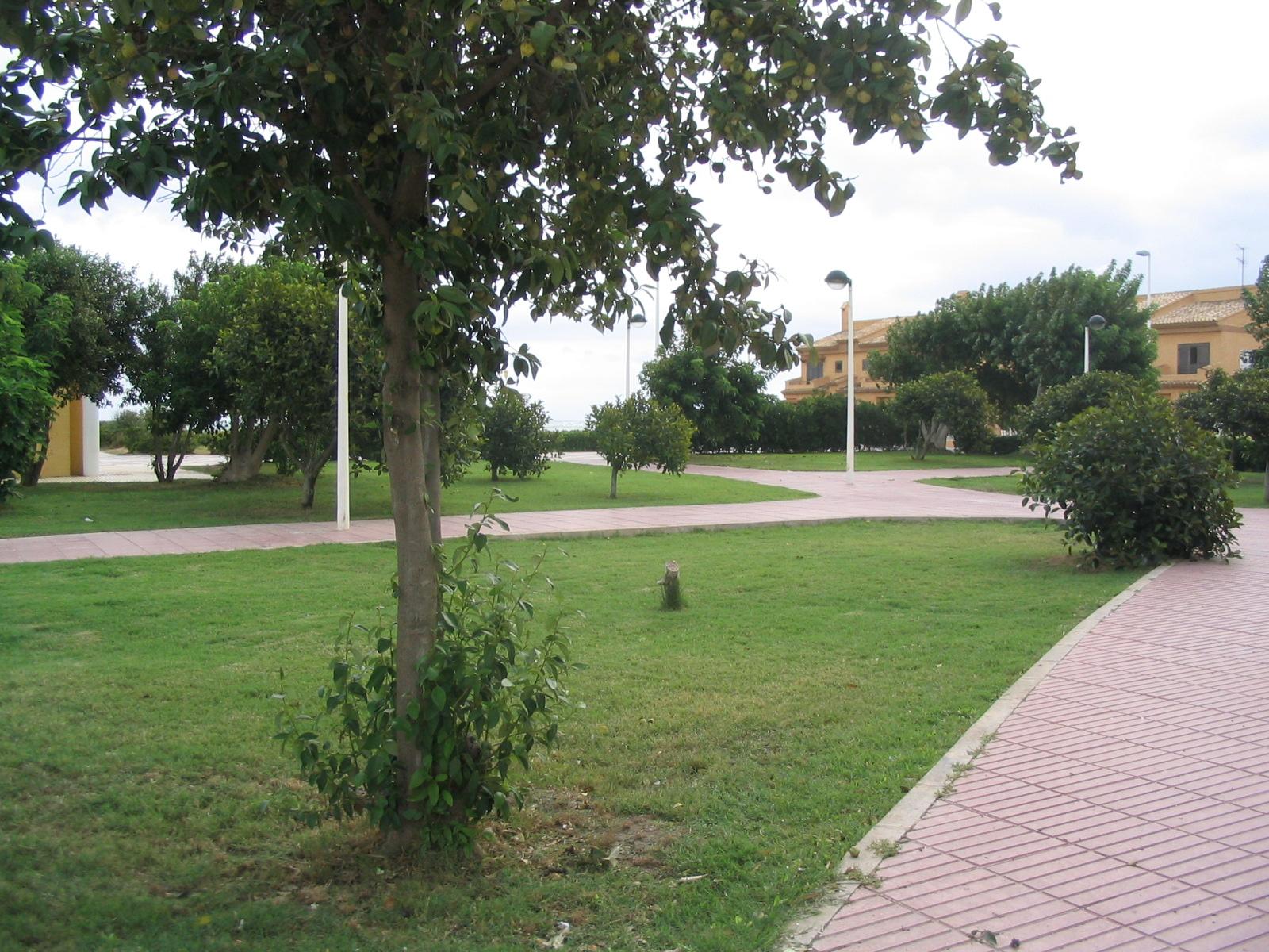 Foto playa El Perelló. Plaça de la Torta (cara el Pouet)