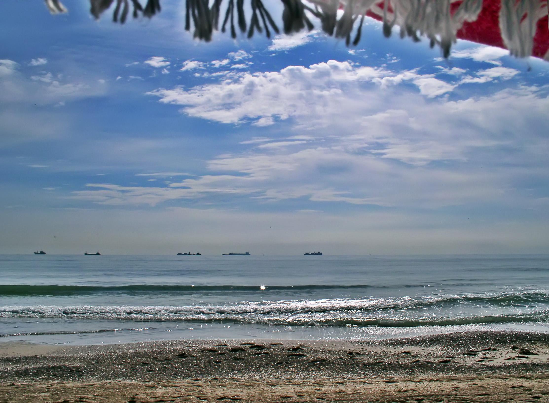 Foto playa La Devesa. playa del Saler