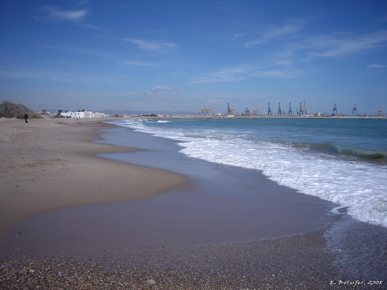 Foto playa El Saler. Playa de Pinedo Norte - Pinedo Beach North