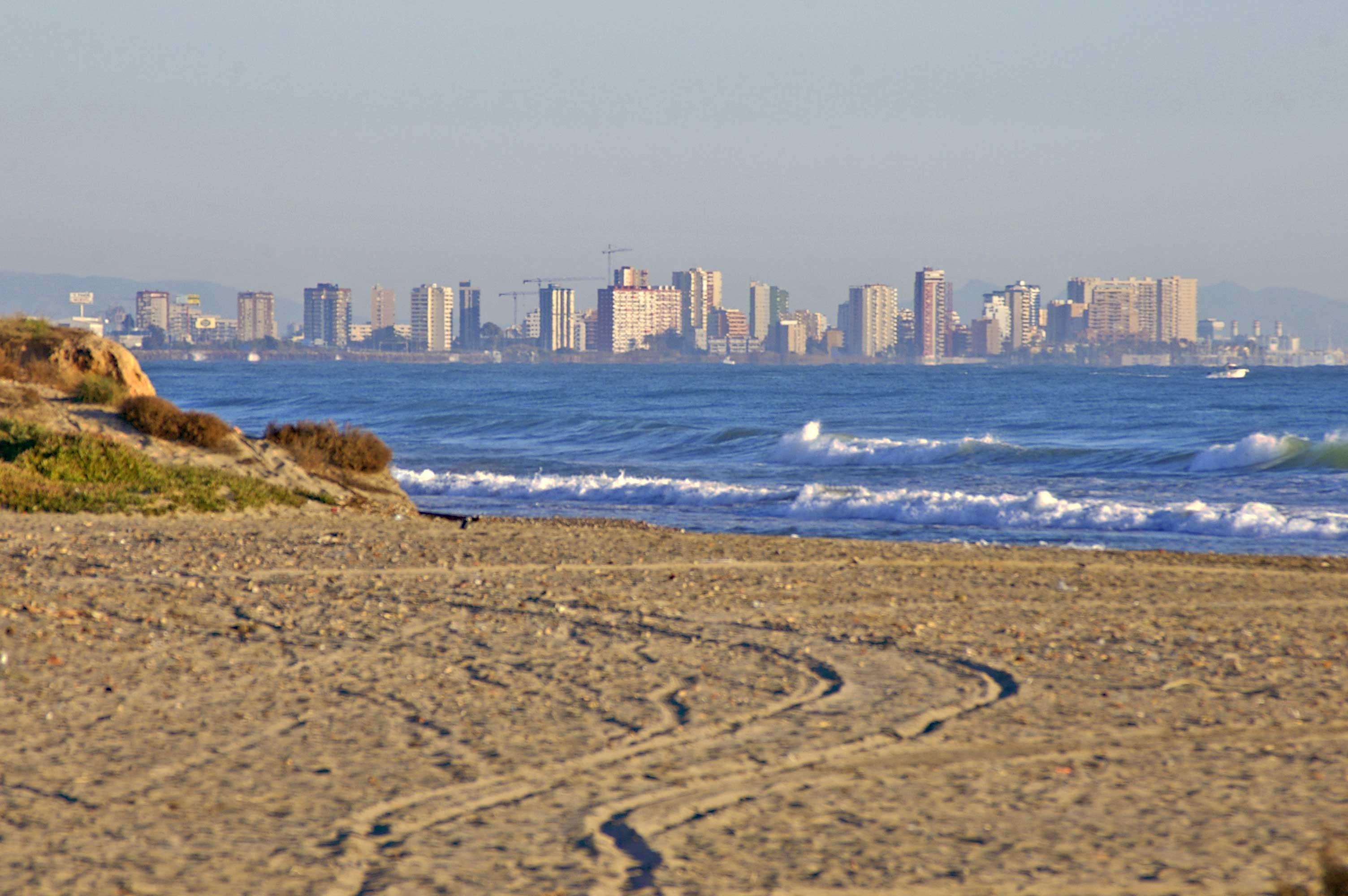 Foto playa Patacona. Playa de la Patacona