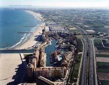 Foto playa Meliana. porsa aereo