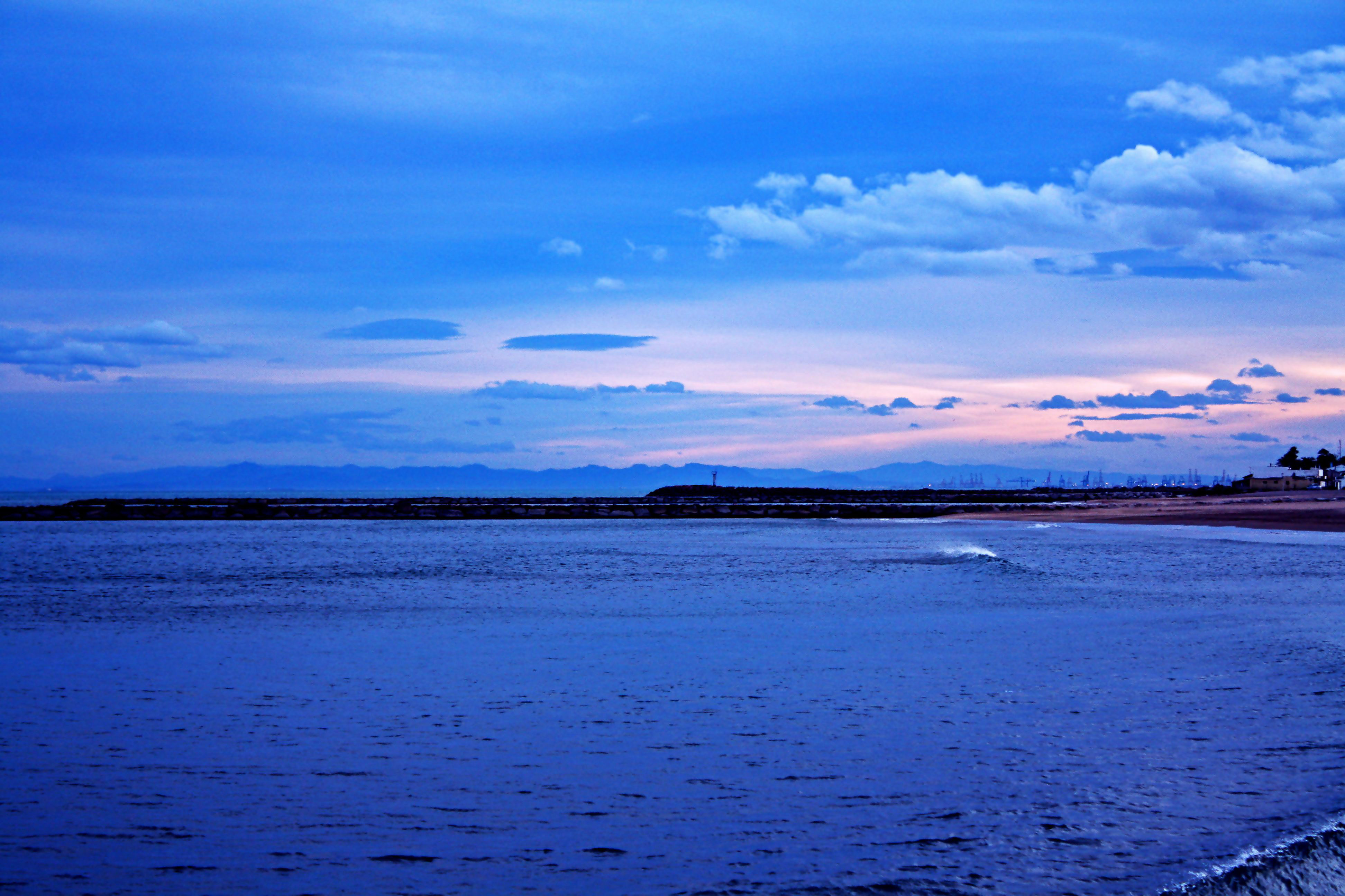 Foto playa Puig Val / Play Puig. blau / platja de El Puig