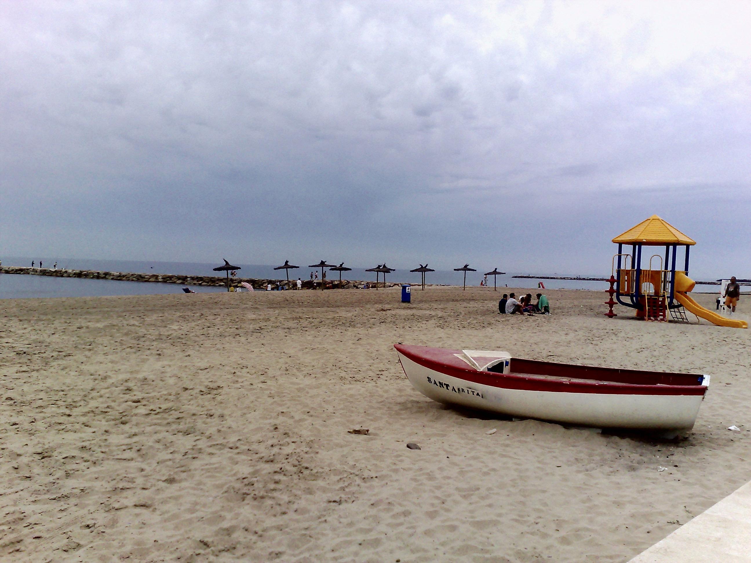 Foto playa Puçol. playa de Puzol