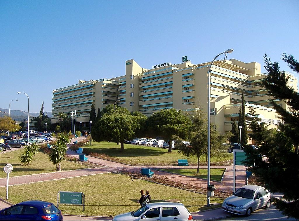 Foto playa El Ancón. Hospital Costa del Sol