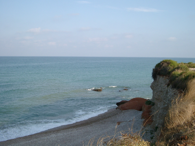 Foto playa Les Deveses. Cala zona norte Vinaròs