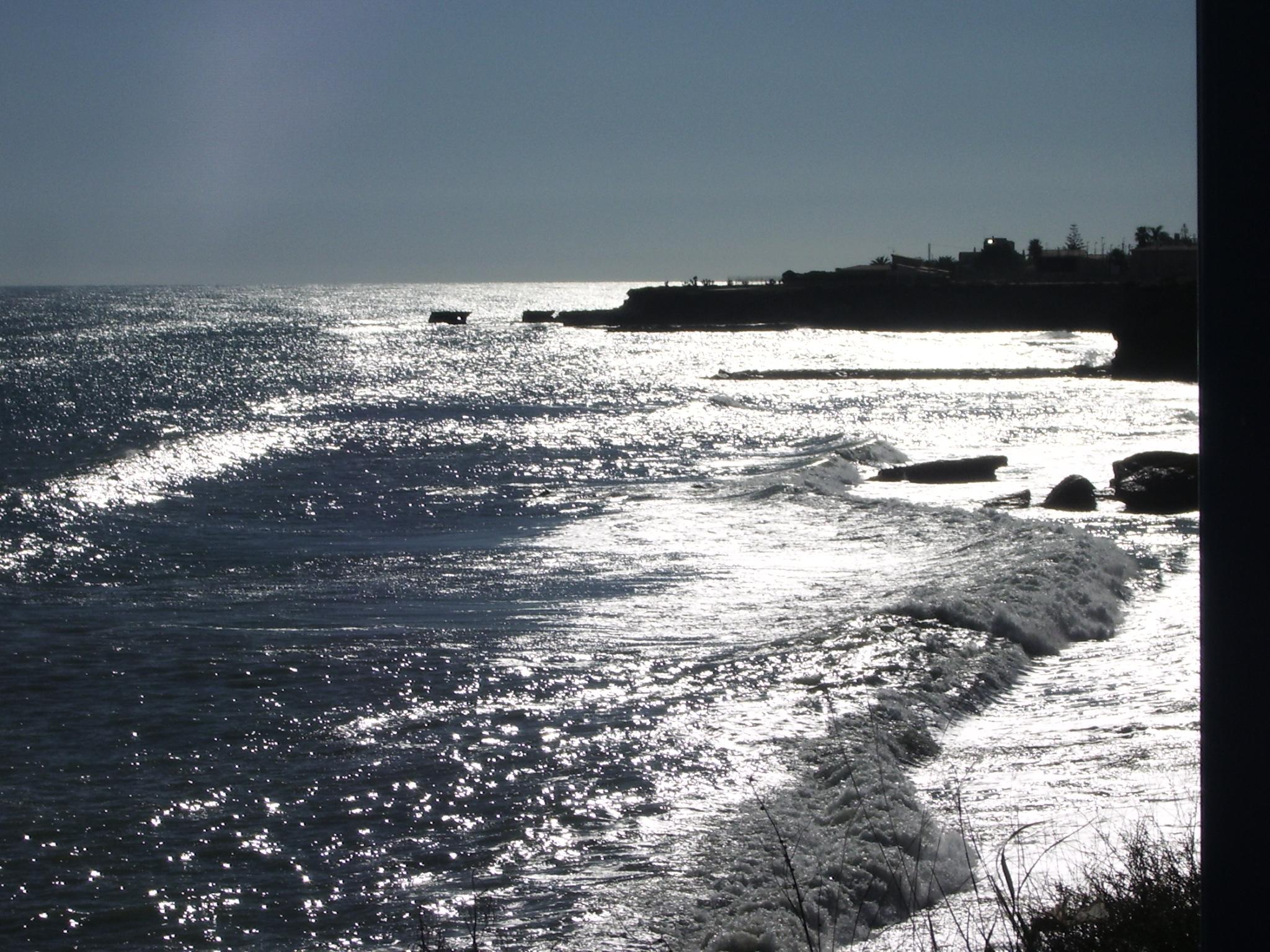 Foto playa Les Deveses. Mar de plata