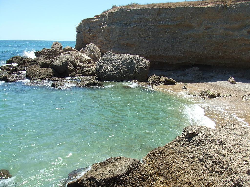 Foto playa Les Deveses. Cala sol de Ríu 2