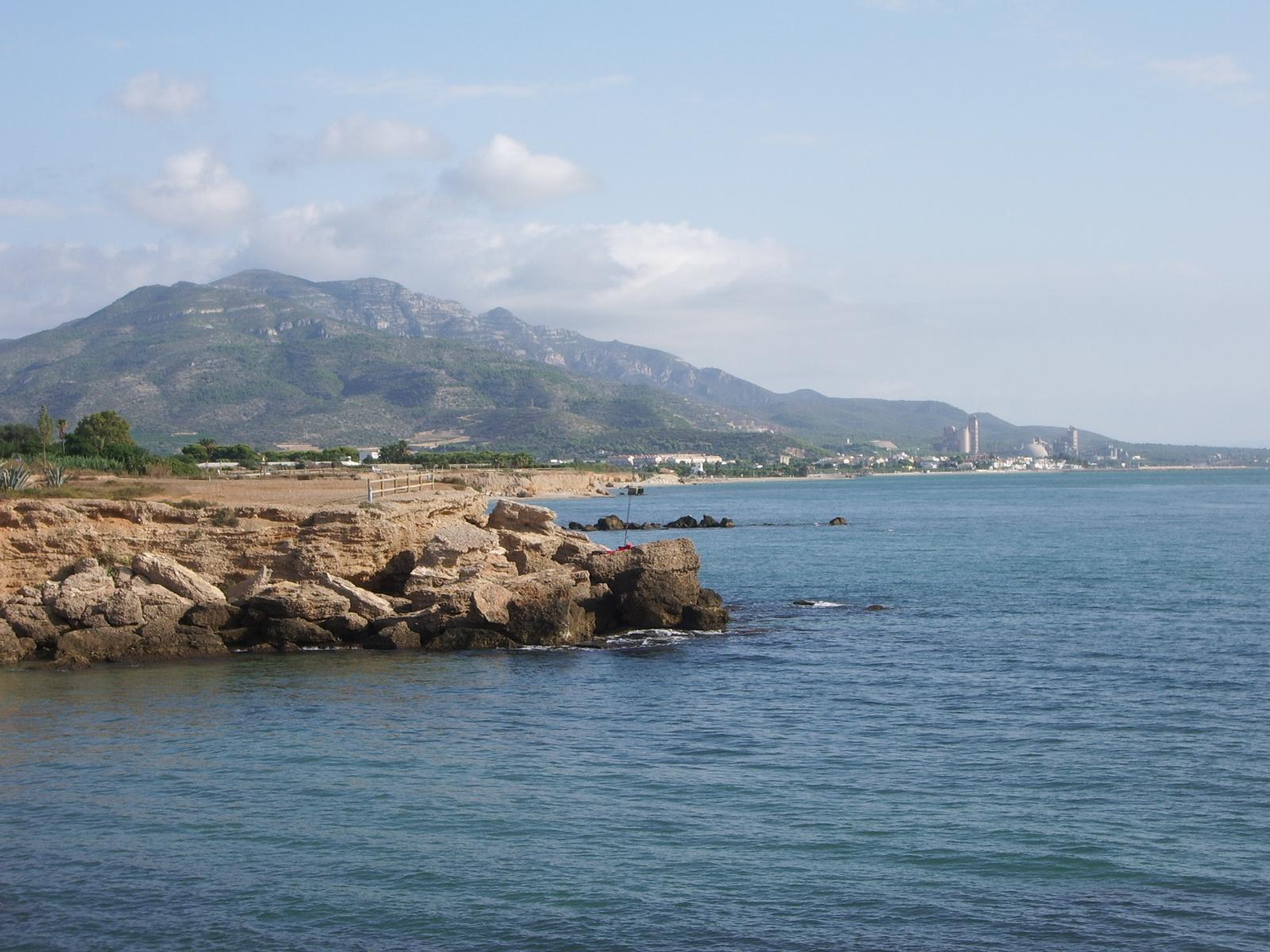 Foto playa Les Deveses. Montsia y costa