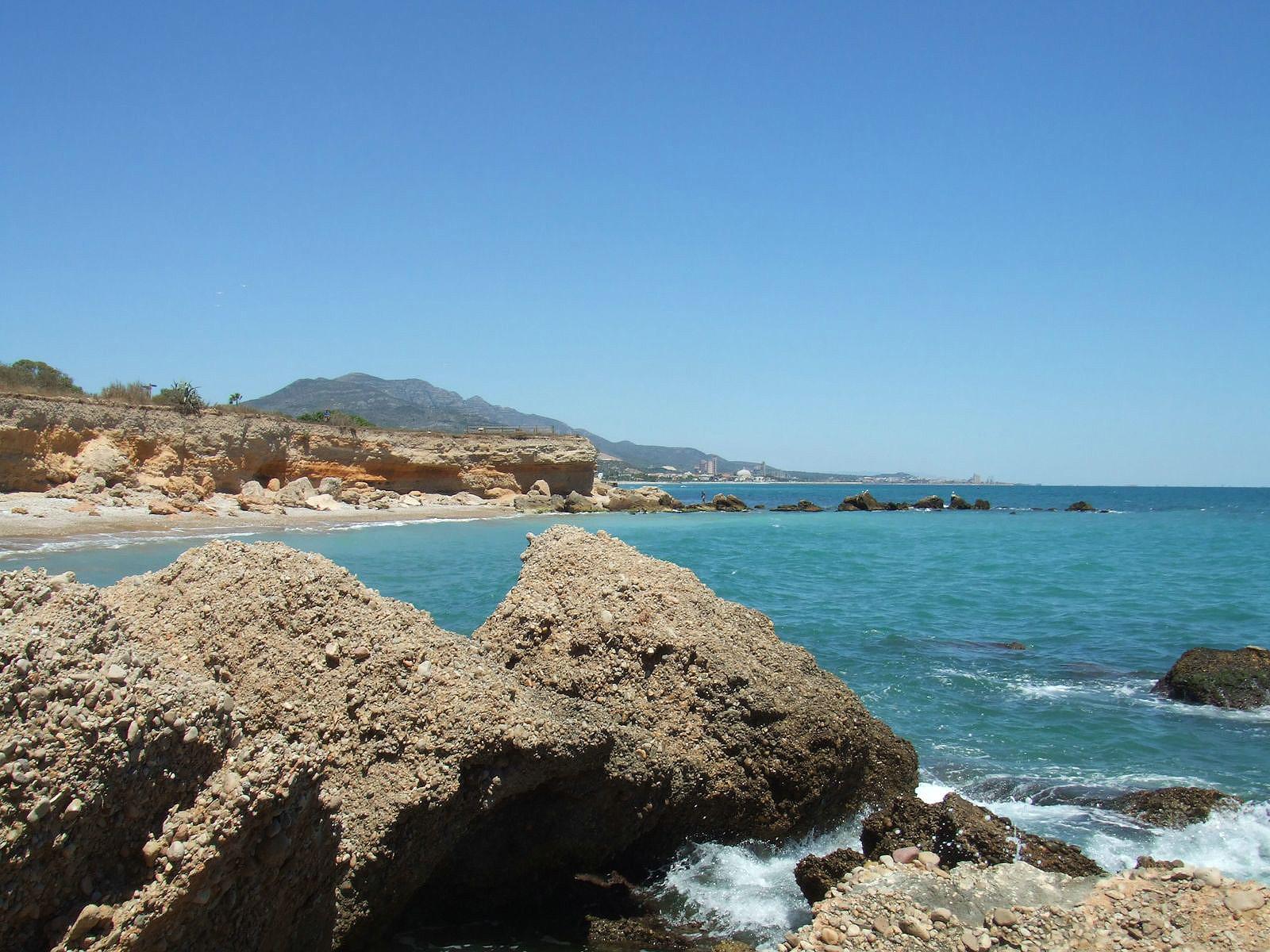 Foto playa Les Deveses. Cala Sol de Ríu 1