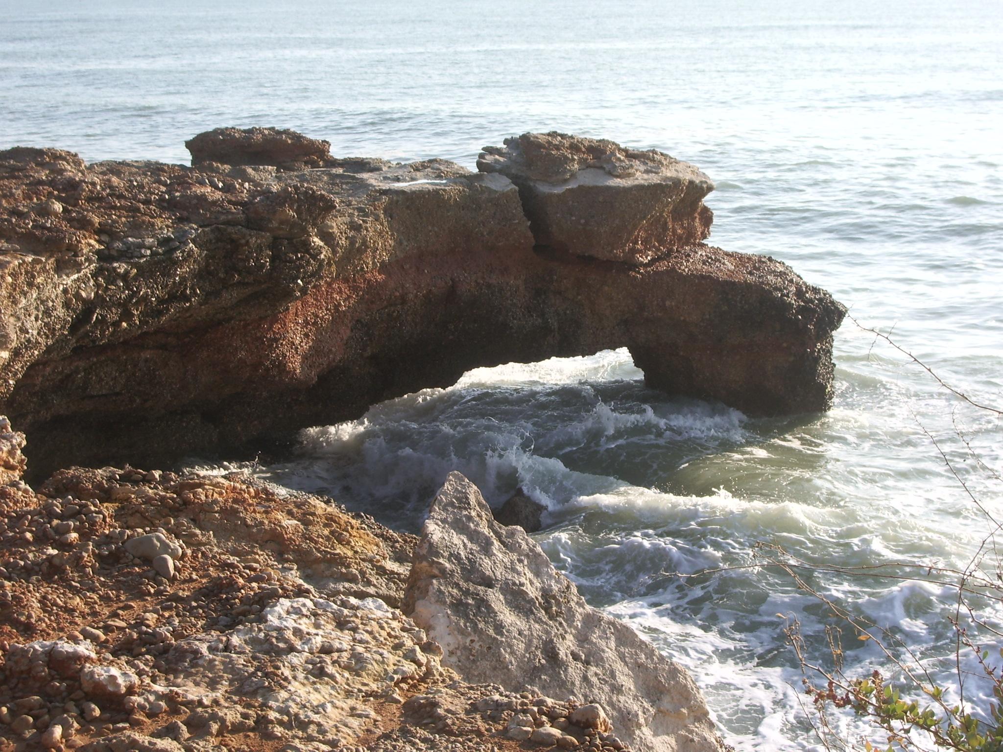 Foto playa Dels Cossis. Costa
