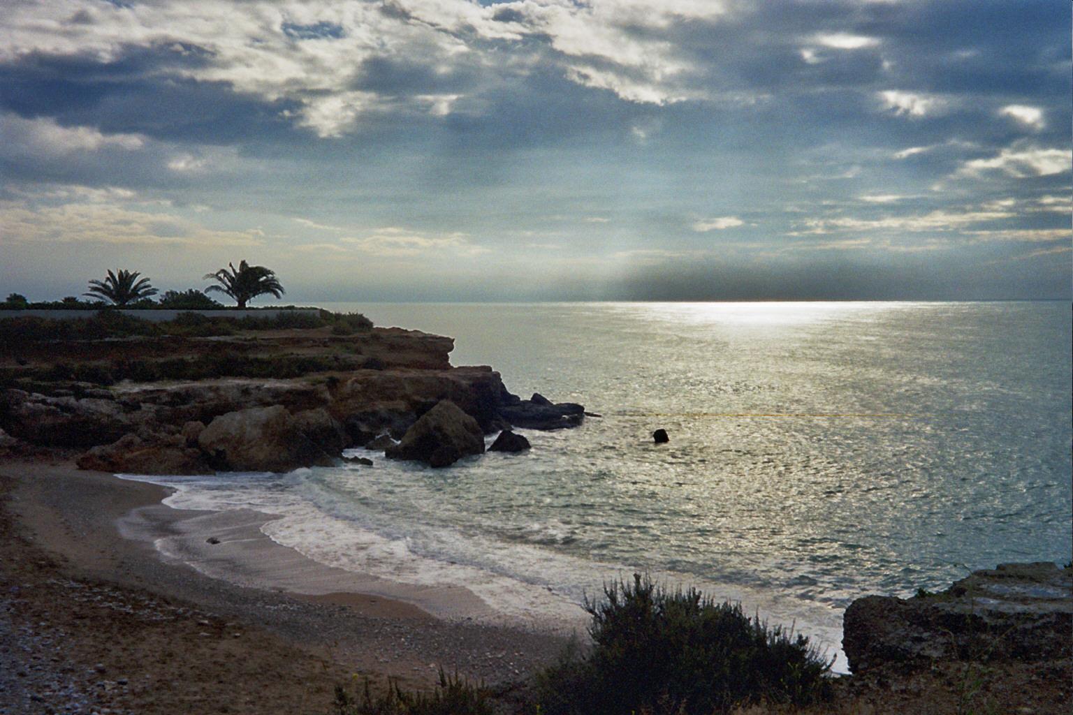 Foto playa Dels Cossis. _10_0301