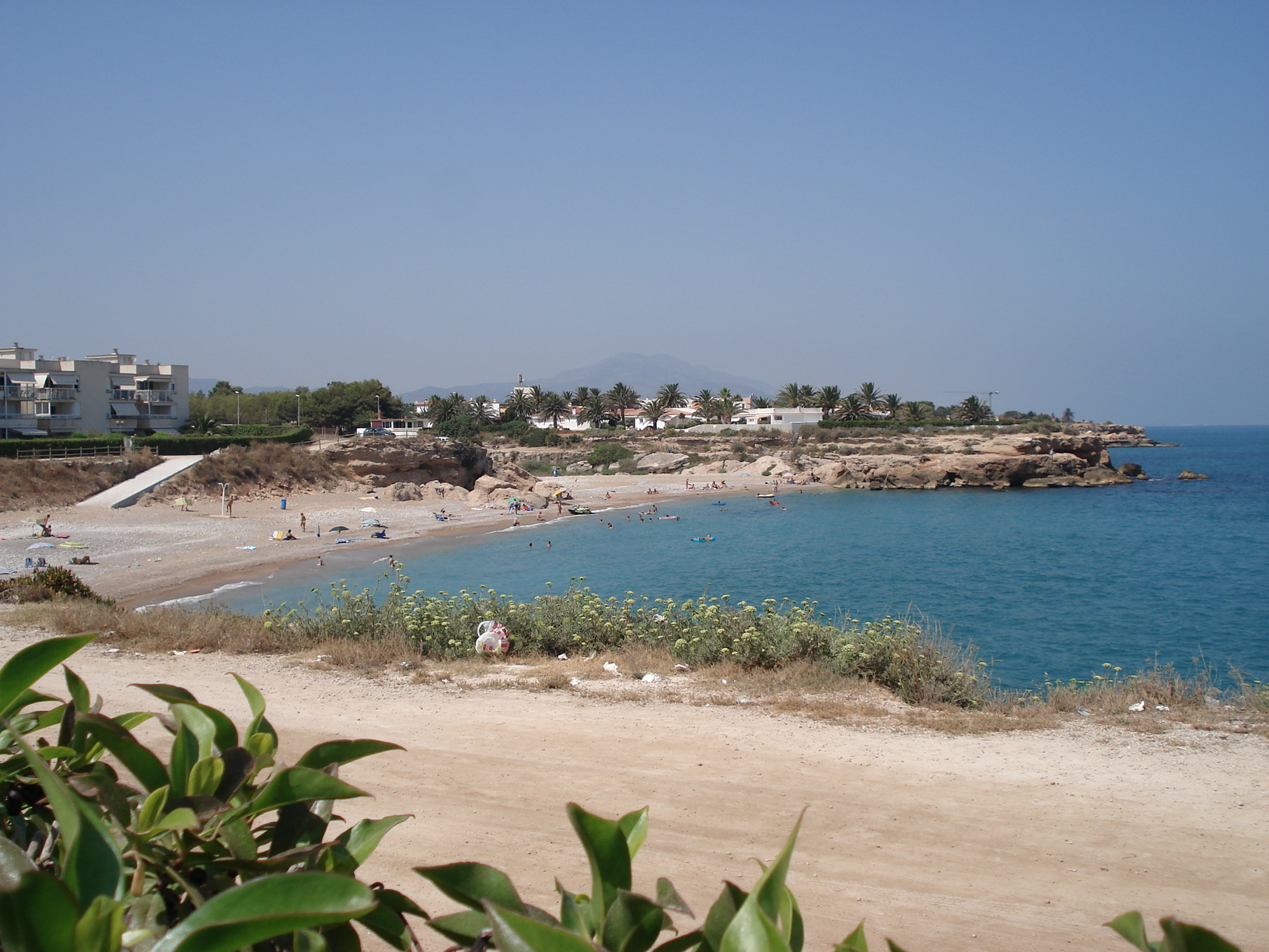 Foto playa Dels Cossis. Plage