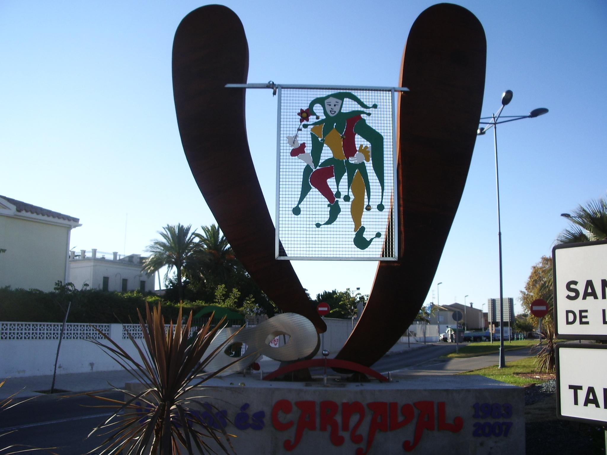 Foto playa Del Clot. Carnaval