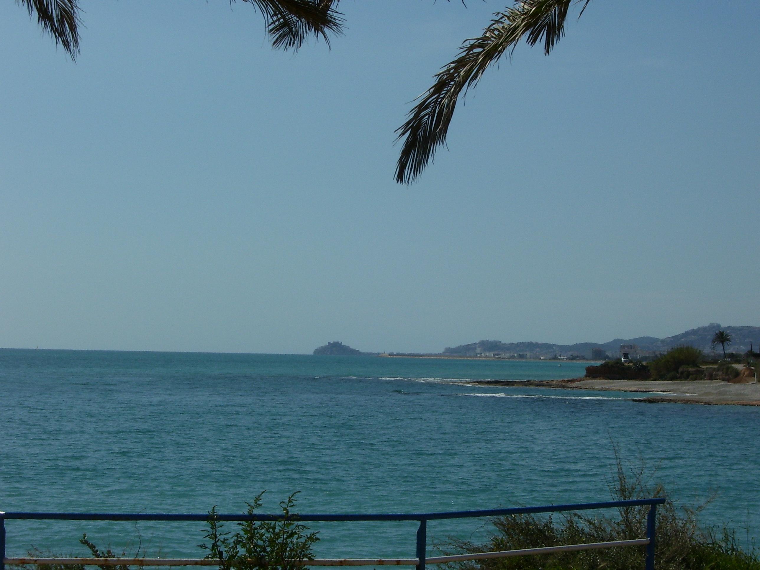 Foto playa Cala Puntal. Peñiscola desde Vinaròs