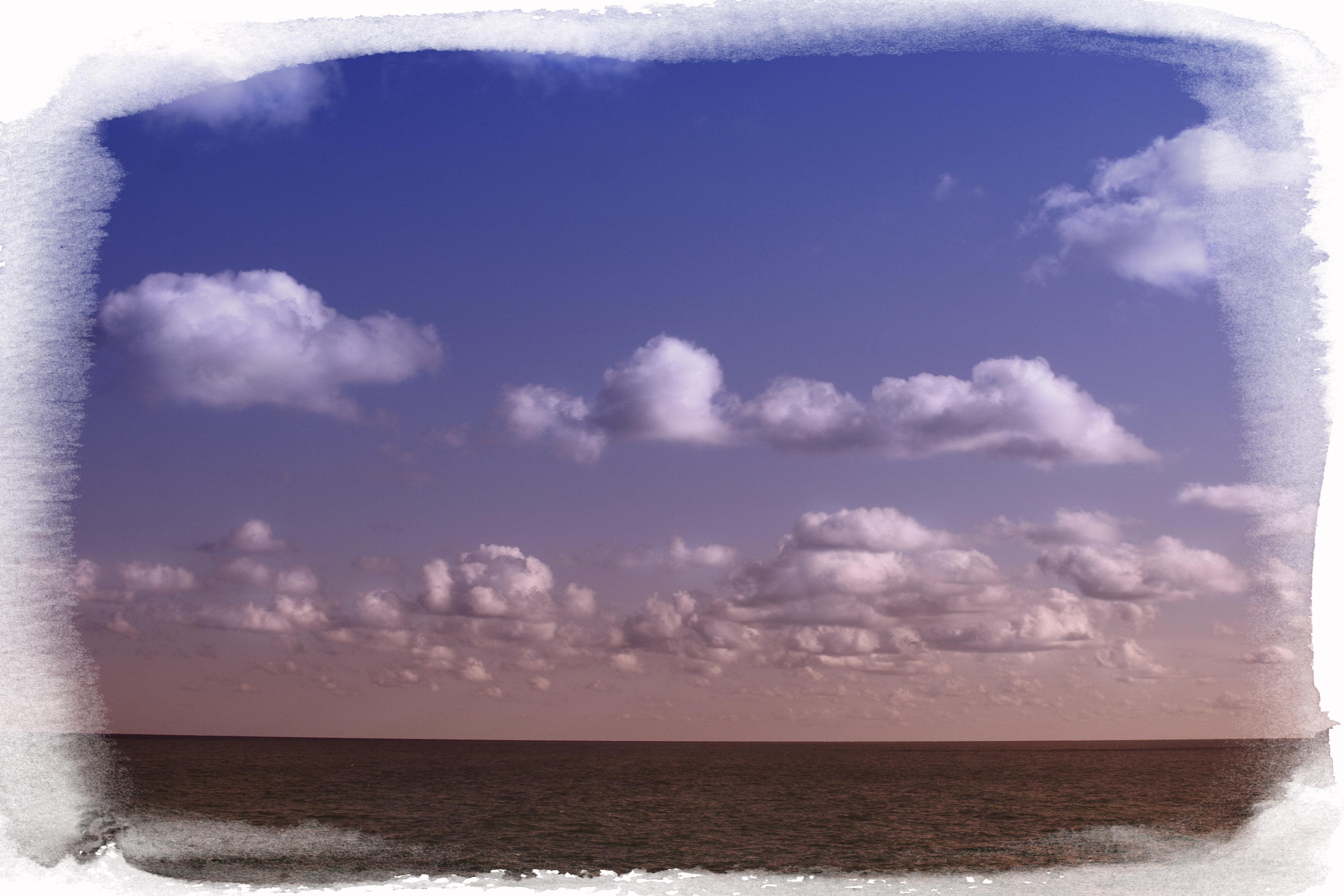 Foto playa Cala Puntal. horizonte