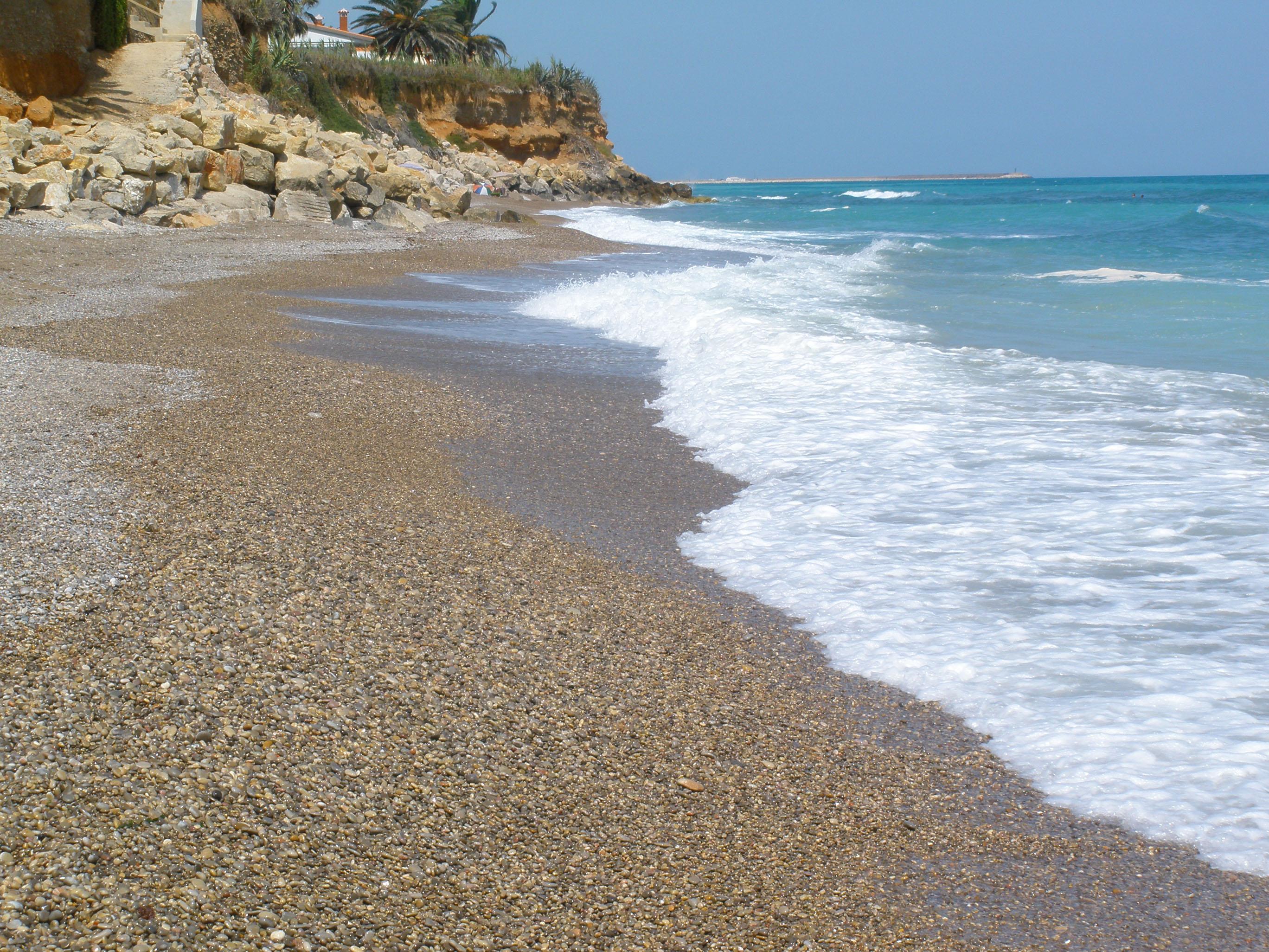 Foto playa D'Aiguaoliva. Surrach