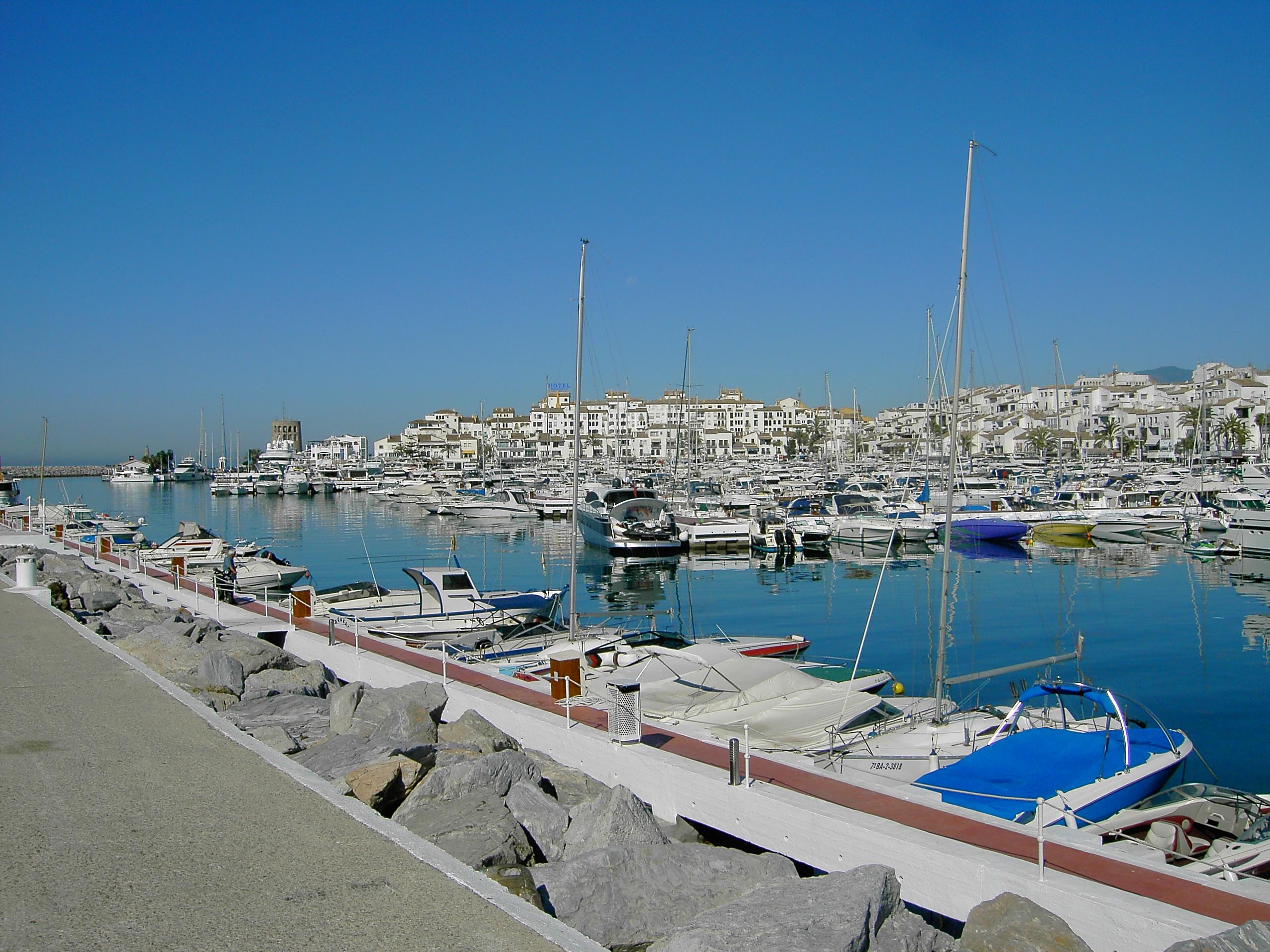 Foto playa Río Verde. Puerto Banús Marbella Malaga