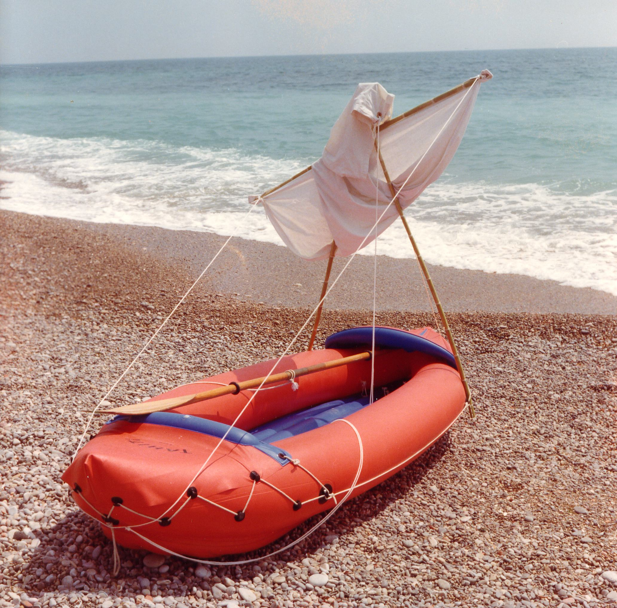 Foto playa Mar Xica. Benicarlo 1977