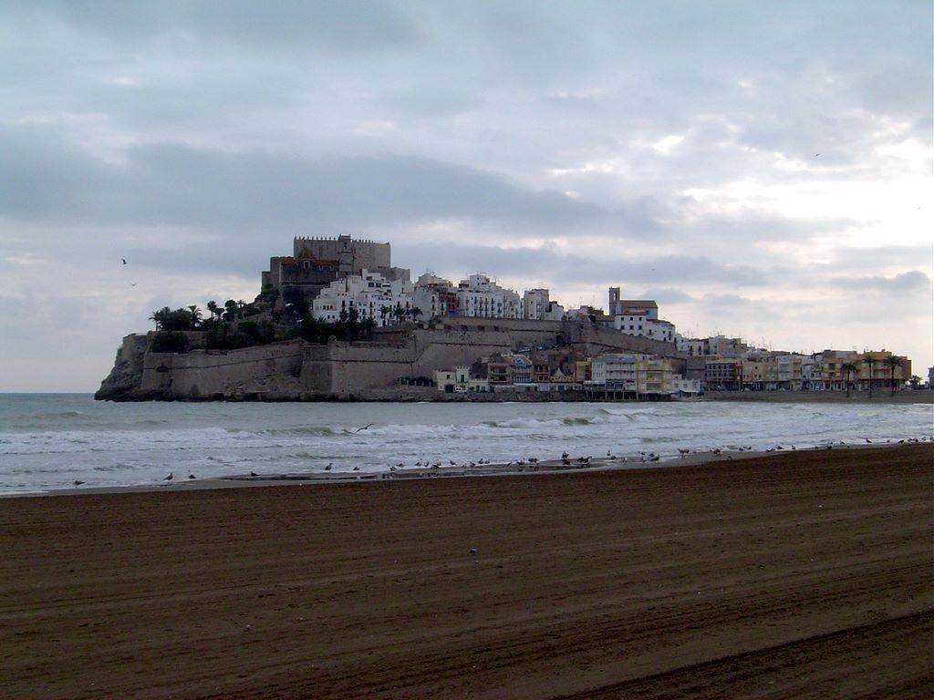 Foto playa Norte. ESPAÑA Castillo del Papa Luna, Peñíscola