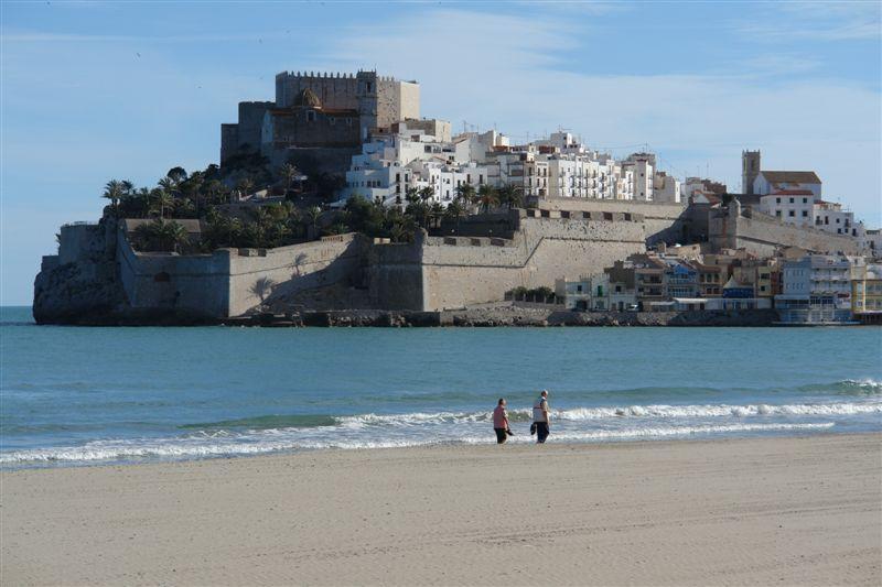 Foto playa De las Viudas. Peñiscola 1452 © (Foto_Seb)