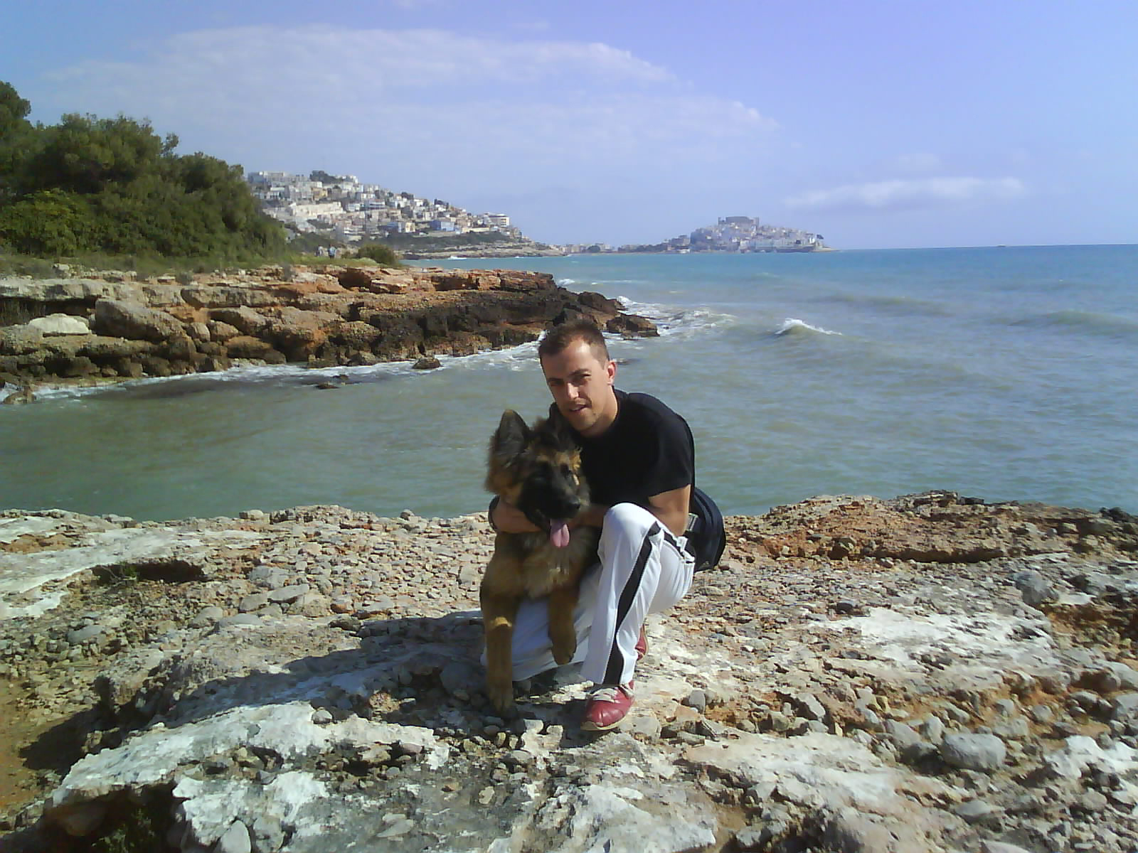 Foto playa Cala Ordí. bart i jo