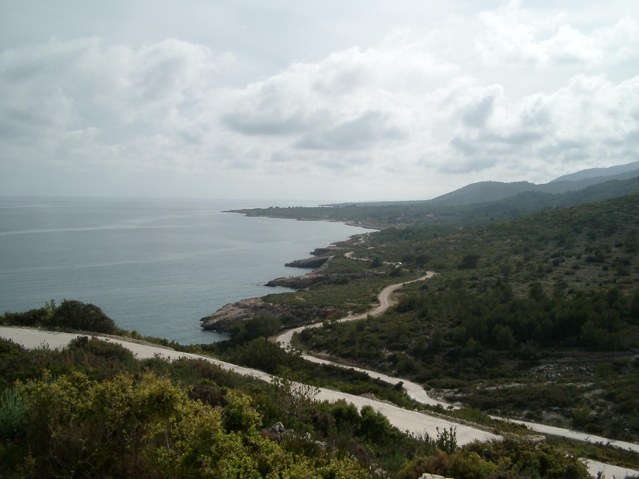 Foto playa Santa Lucía. Sierra de Irta