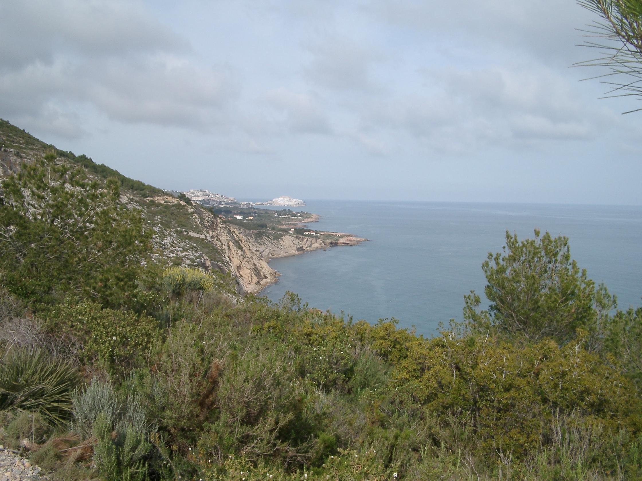 Foto playa Santa Lucía.