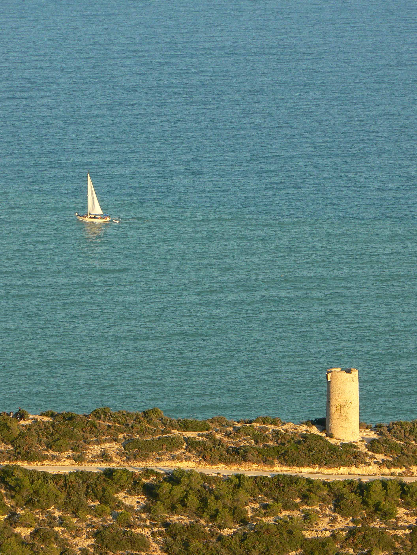 Foto playa Santa Lucía. Torre Badún