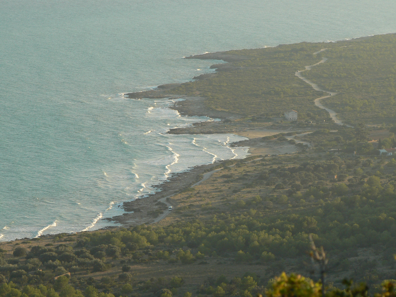Foto playa Santa Lucía. Vista al sur