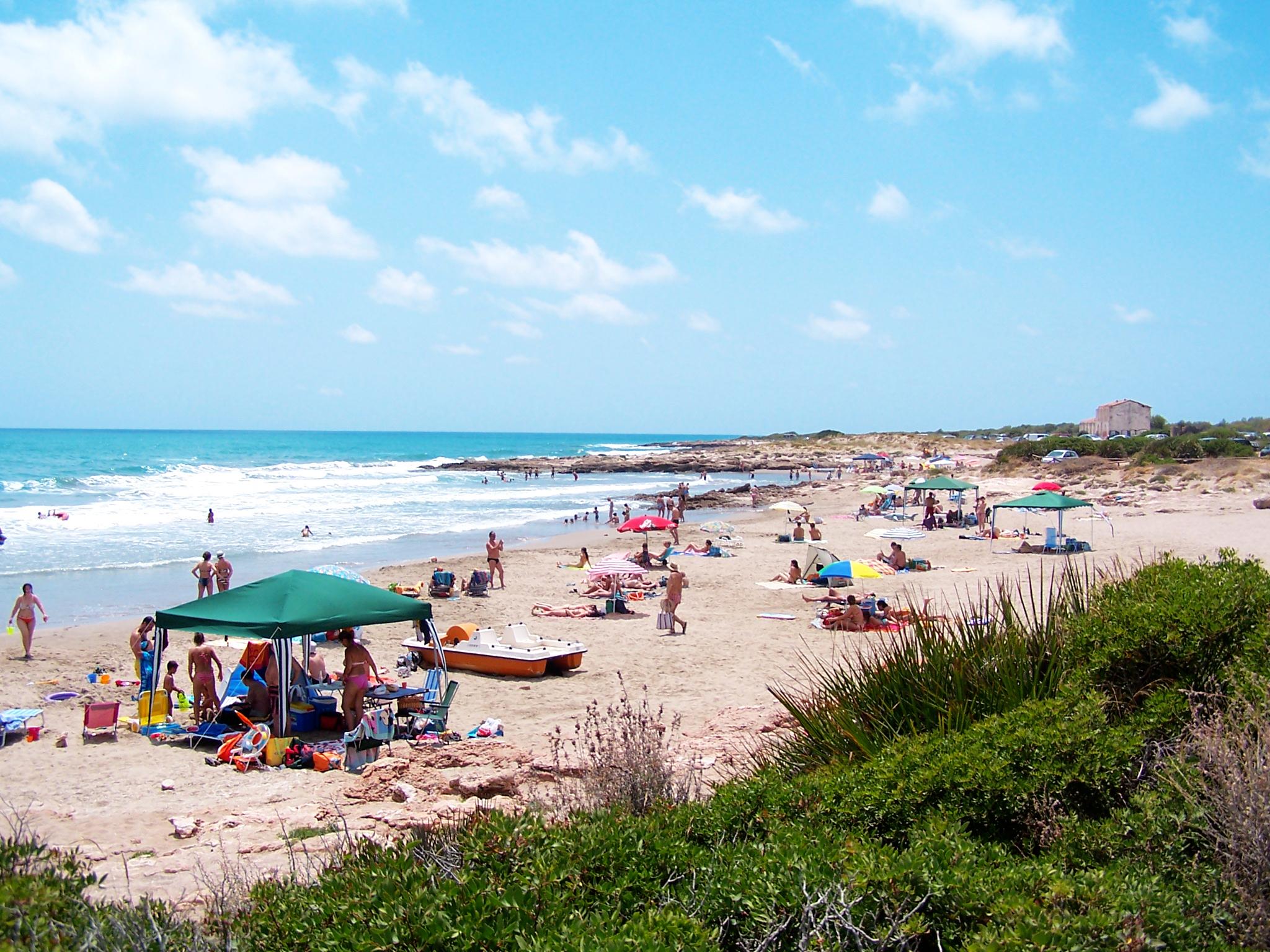 Foto playa Cala L´Aljub.