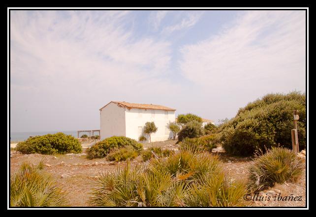 Foto playa Cala L´Aljub. El Pebret